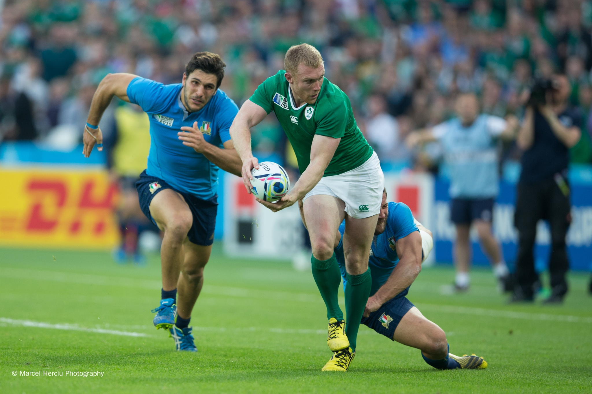 Ireland v Italy by Marcel Herciu