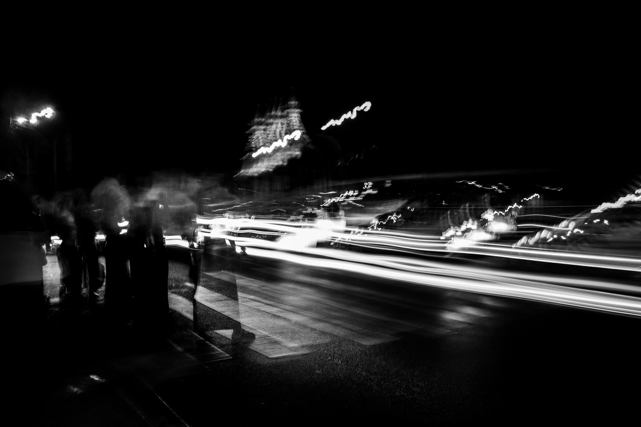 Yangon by Night by Hazel Vint