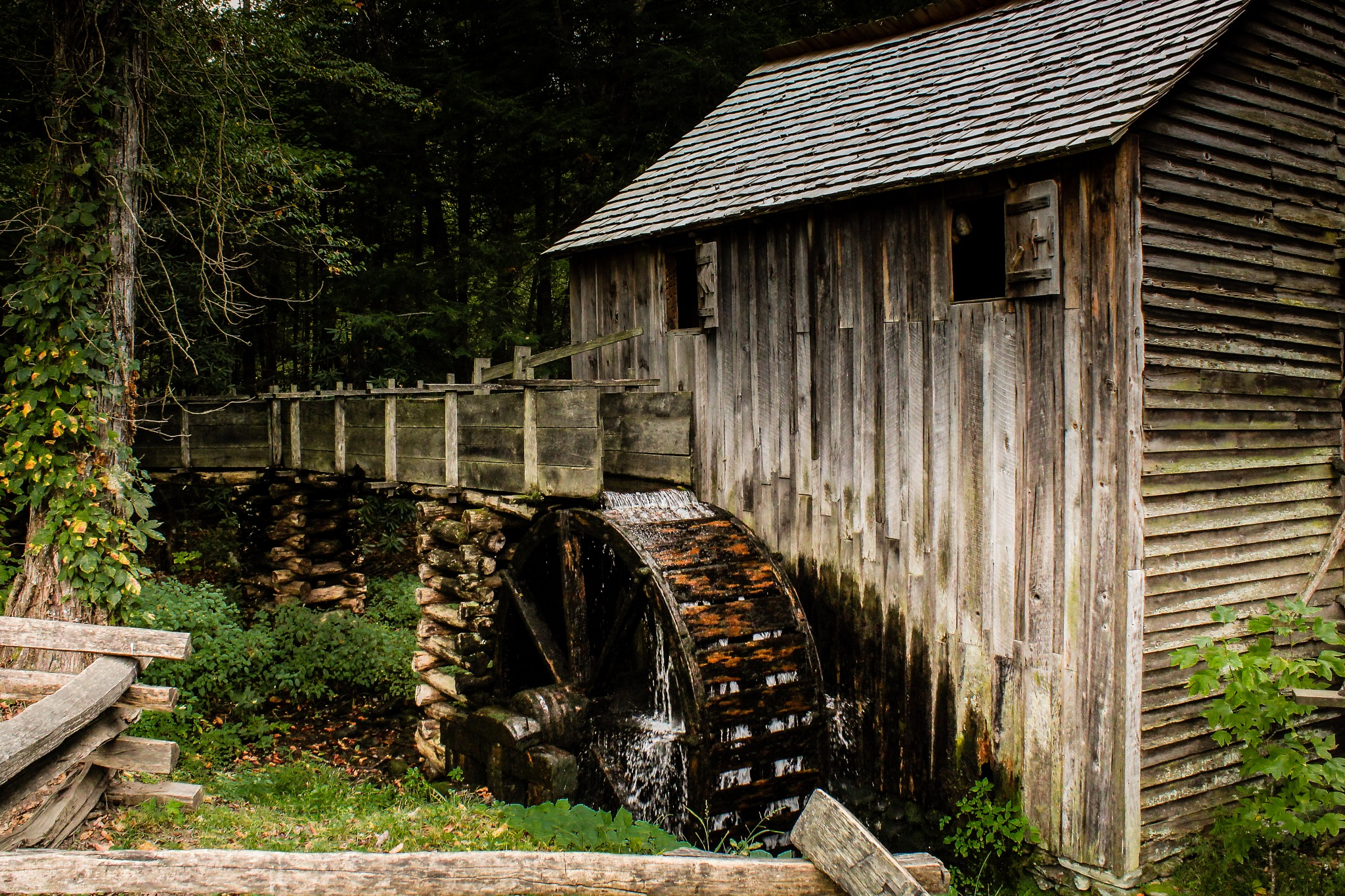 Cable Grist Mill by Tim Godfrey