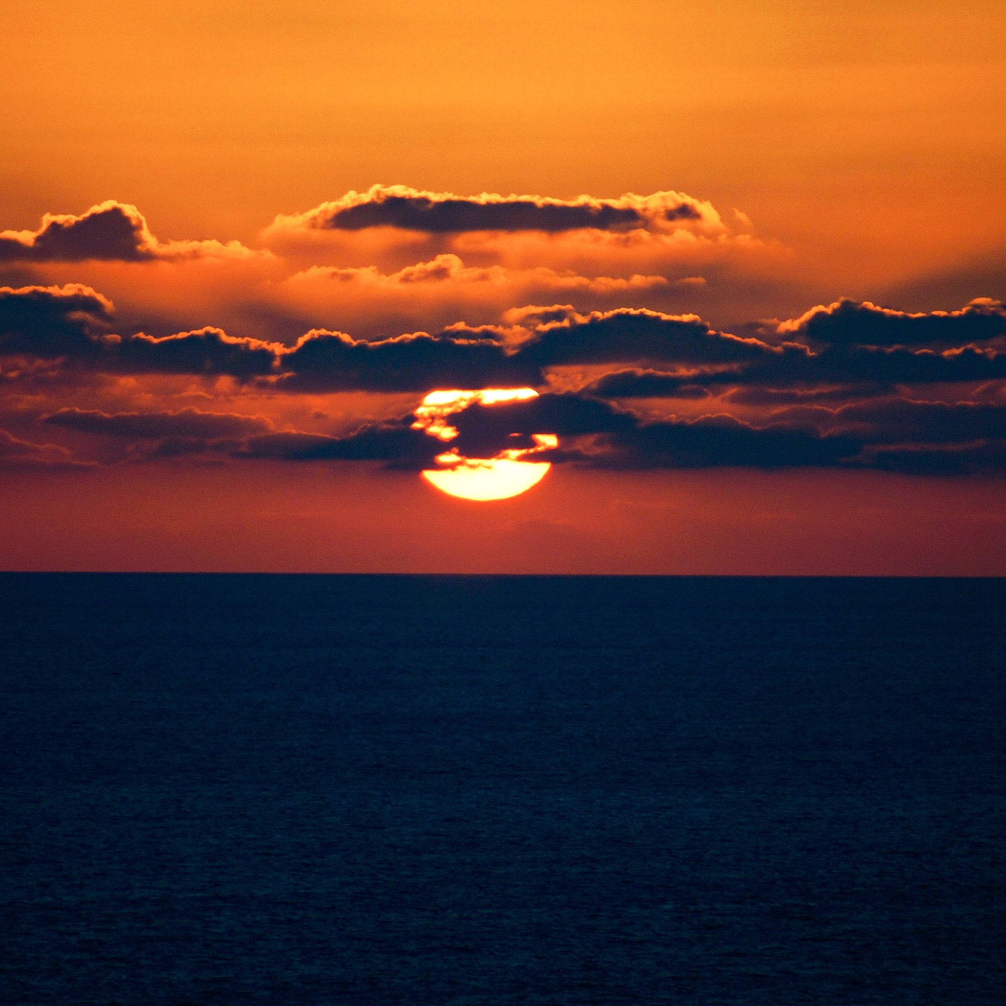 Cypriot sunset. by Rob Park