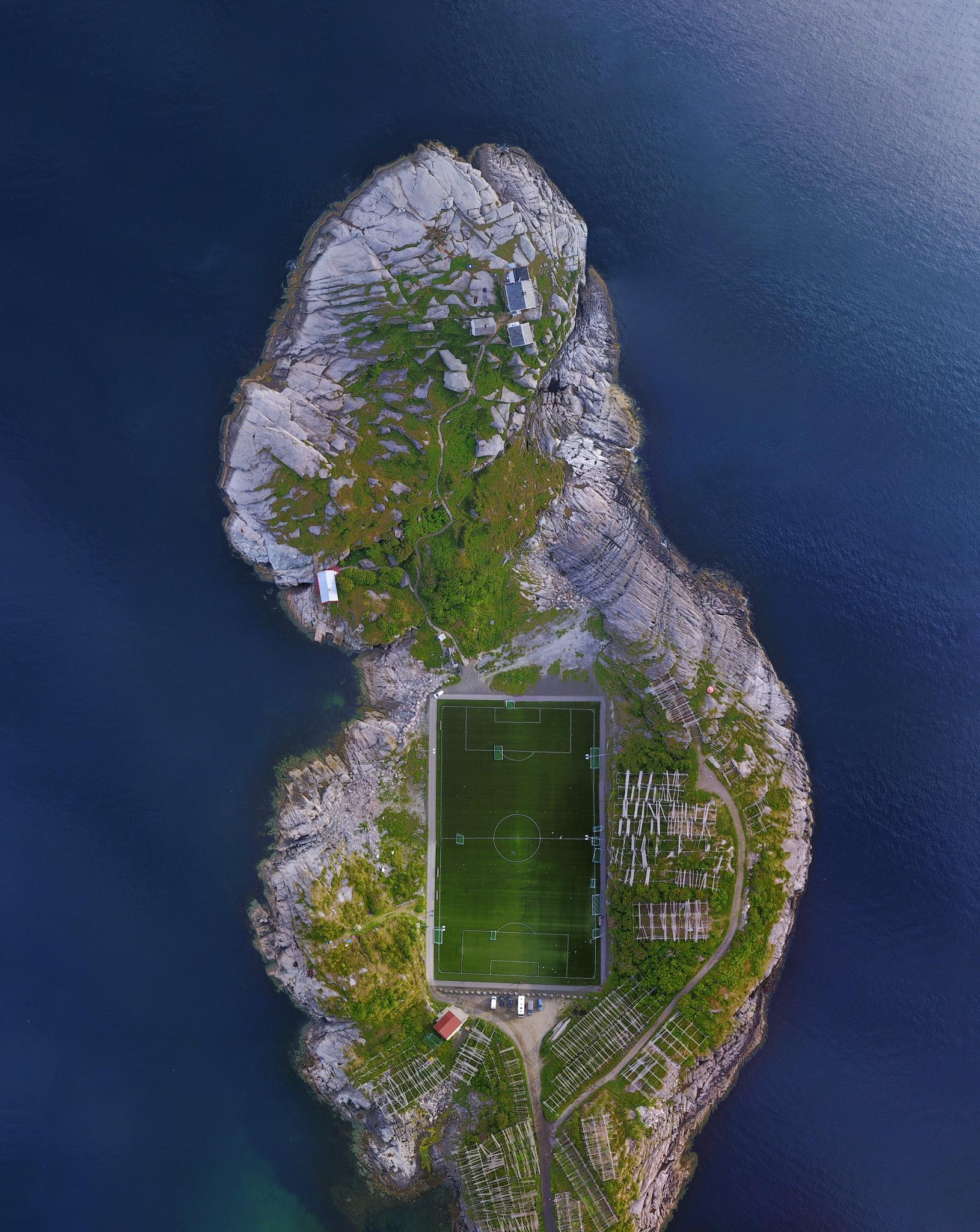 Lovely Footballcourt by Lukas