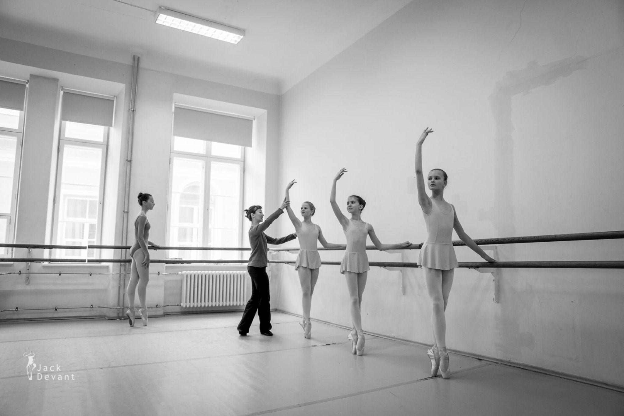 Ballet Class II by Jack Devant