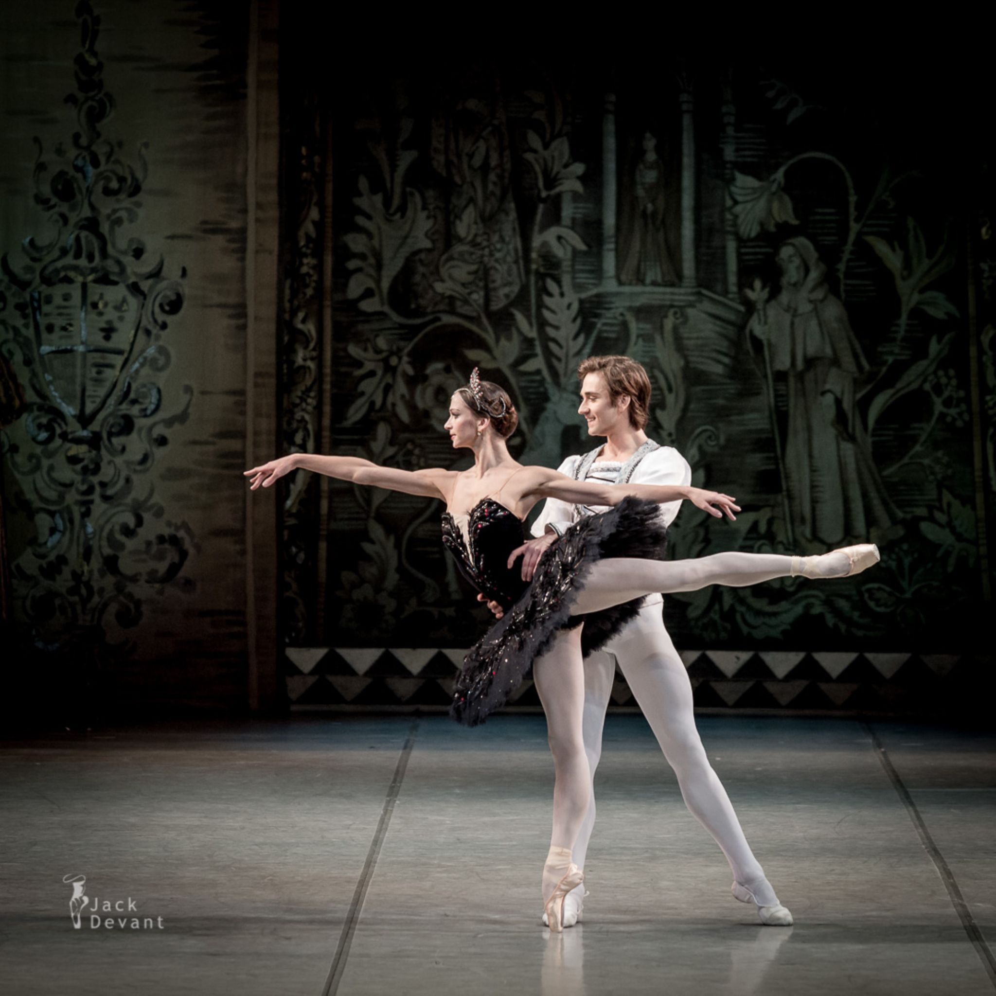 Swan Lake - Polina Semionova and Friedemann Vogel by Jack Devant