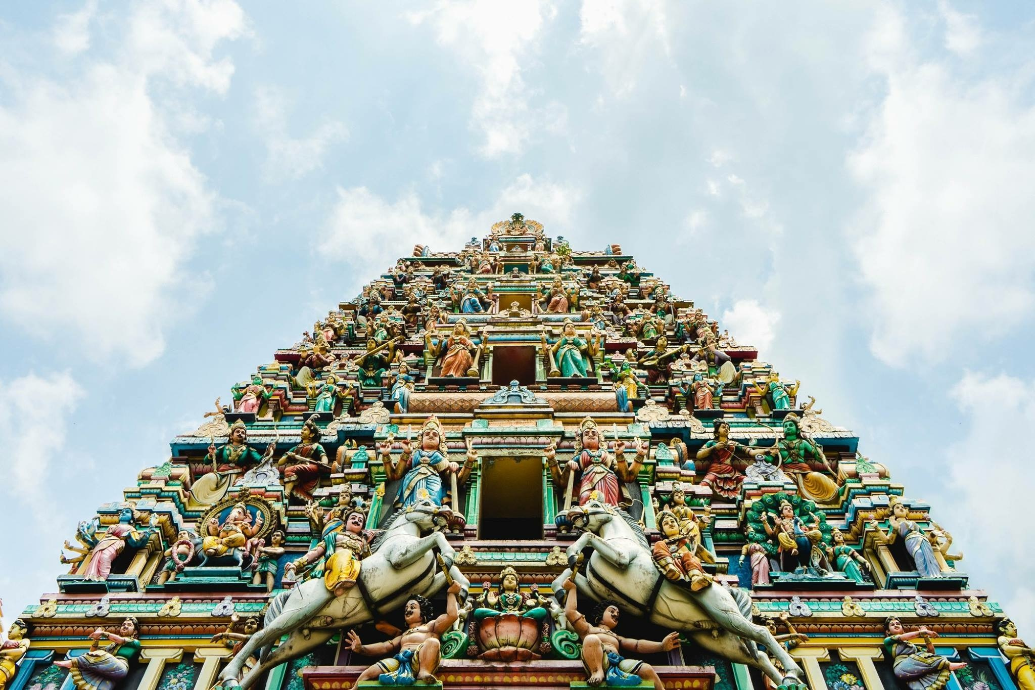 Hindu Temple by Tim Huefner