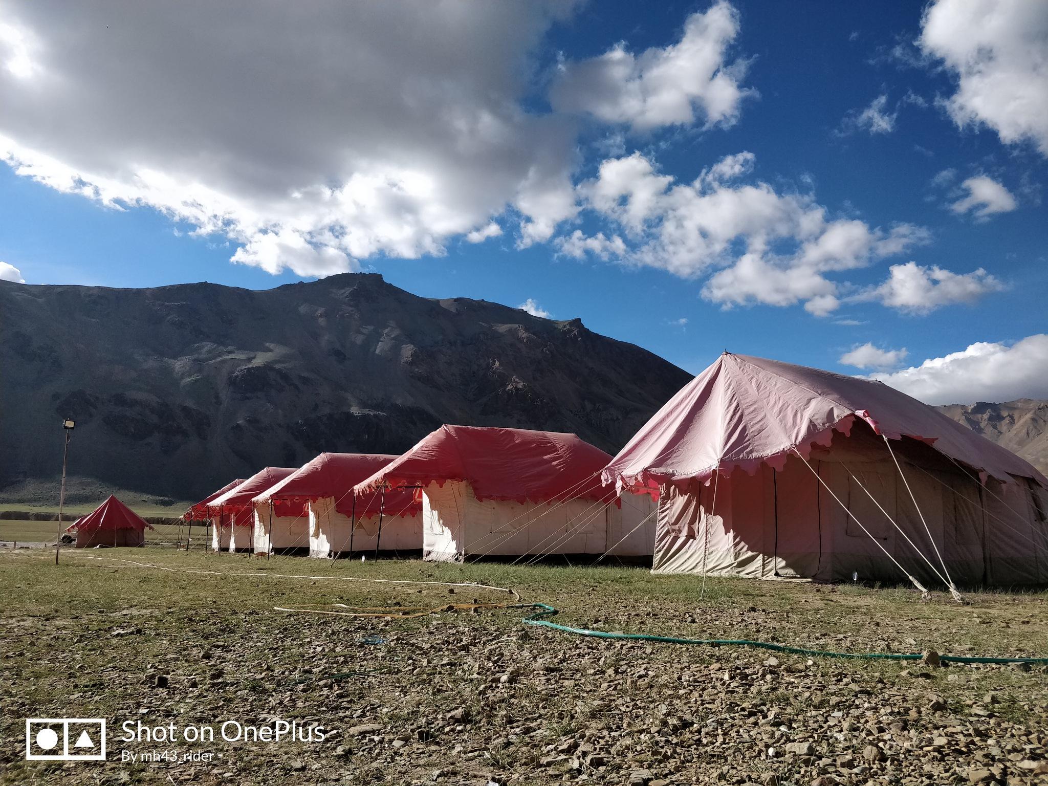 Camping at Sarchu by Akshay Shelke (Mh43Rider)