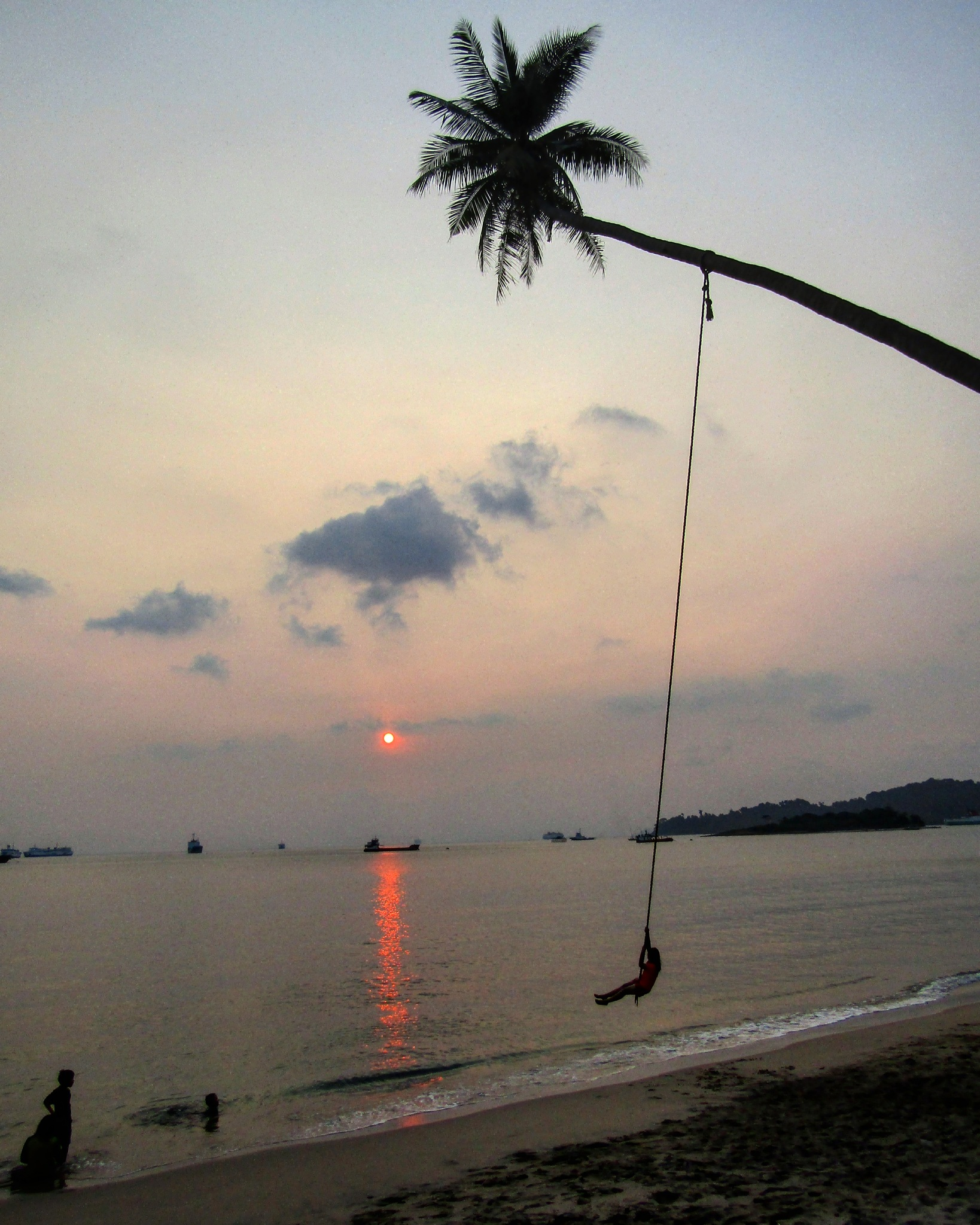 Sunset swing by Maseko Rawont