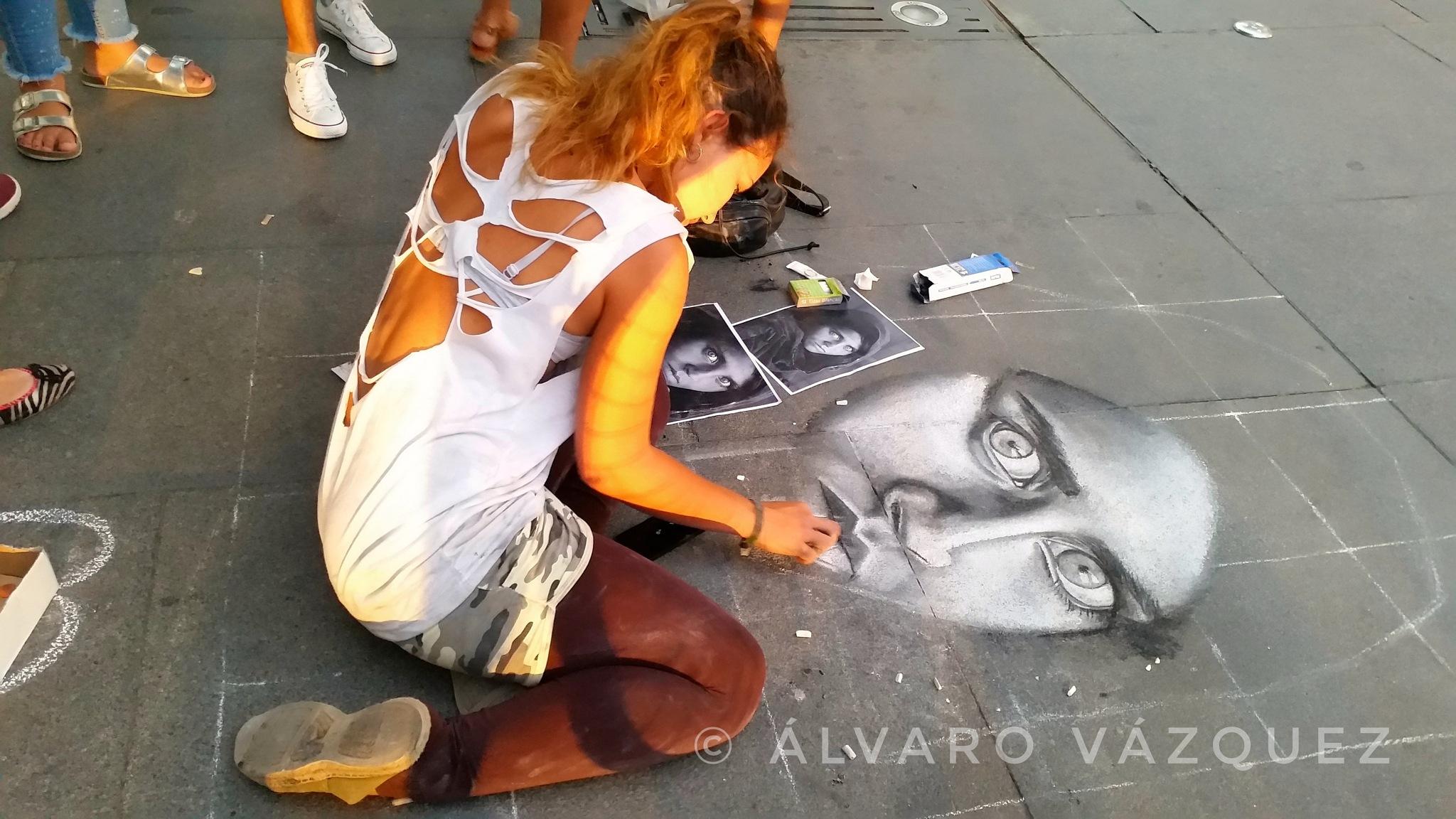 Streetart in Seville by Álvaro Vázquez