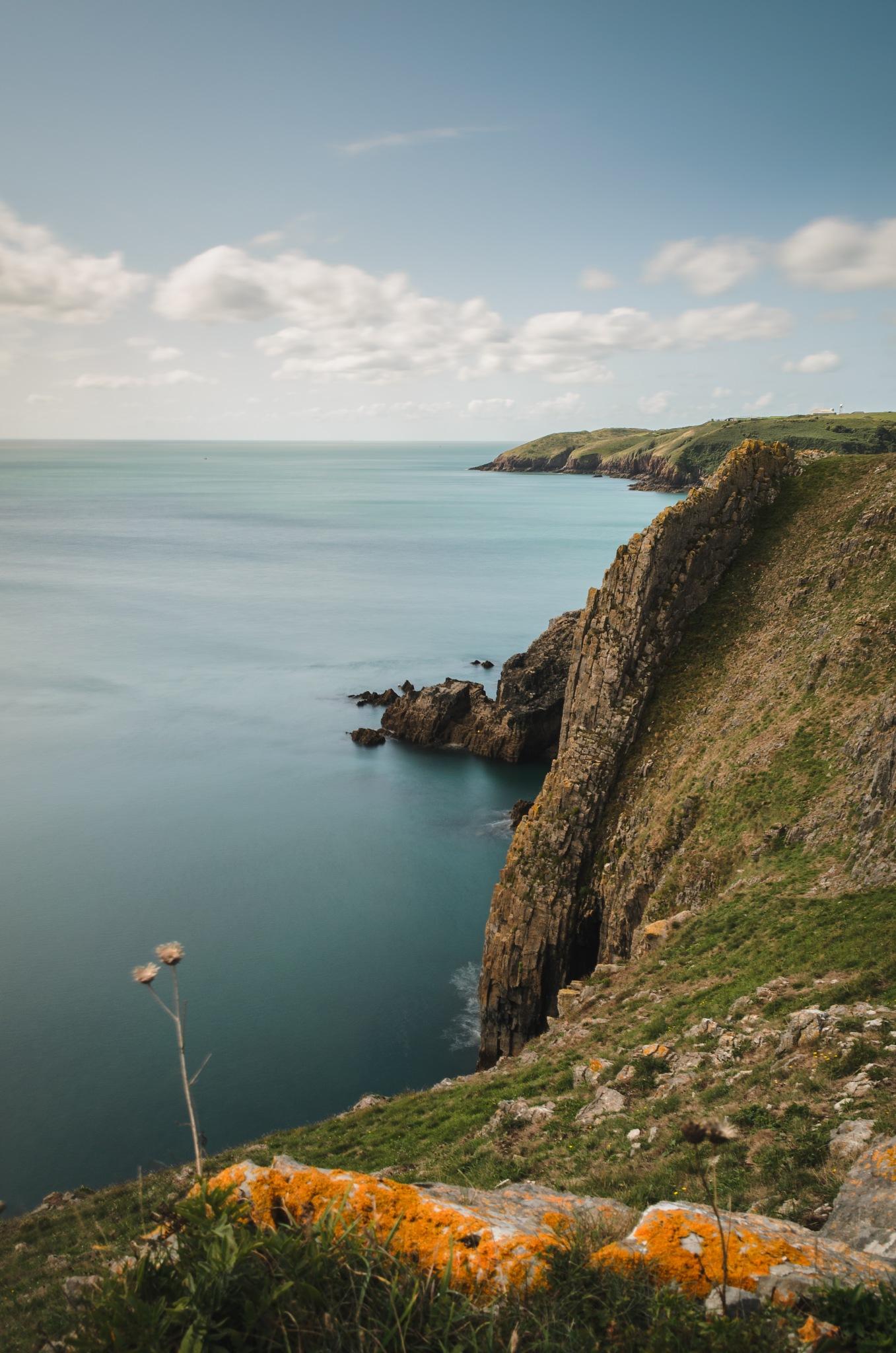 Cliffs of Pembrokeshire by Lukas Willke
