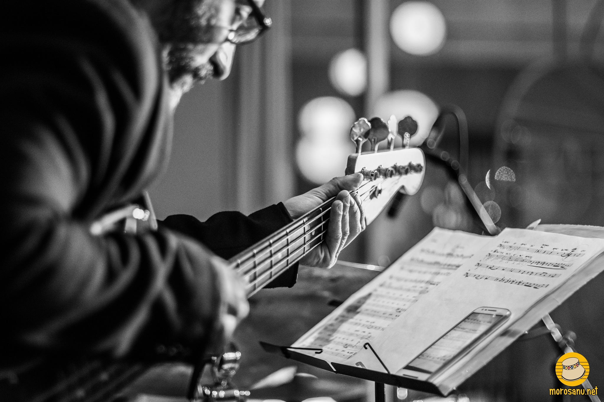 The bass player by AlexMara