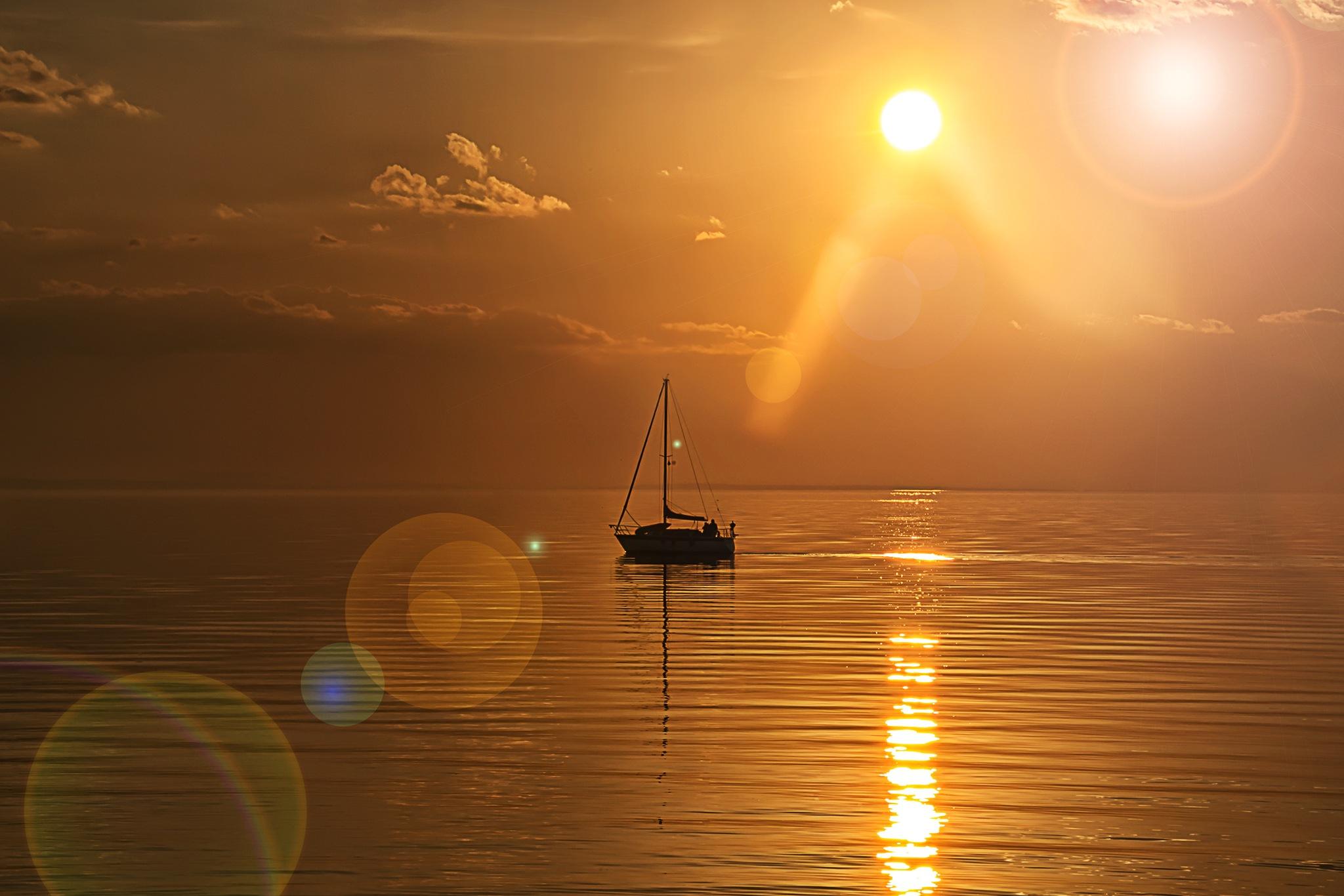 Akşamın güzelliği by İbrahim YILDIZ