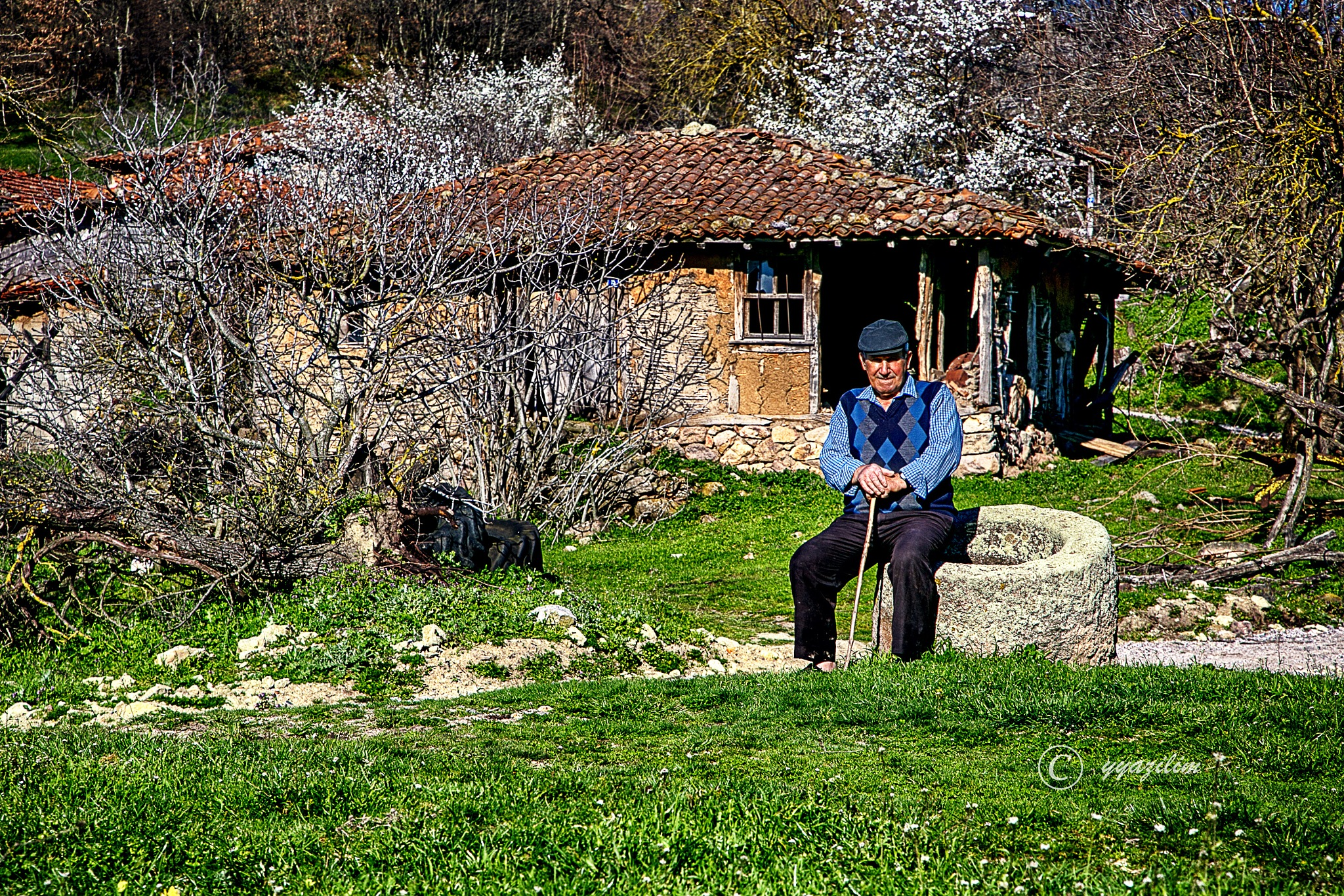 Köyde yaşam by İbrahim YILDIZ