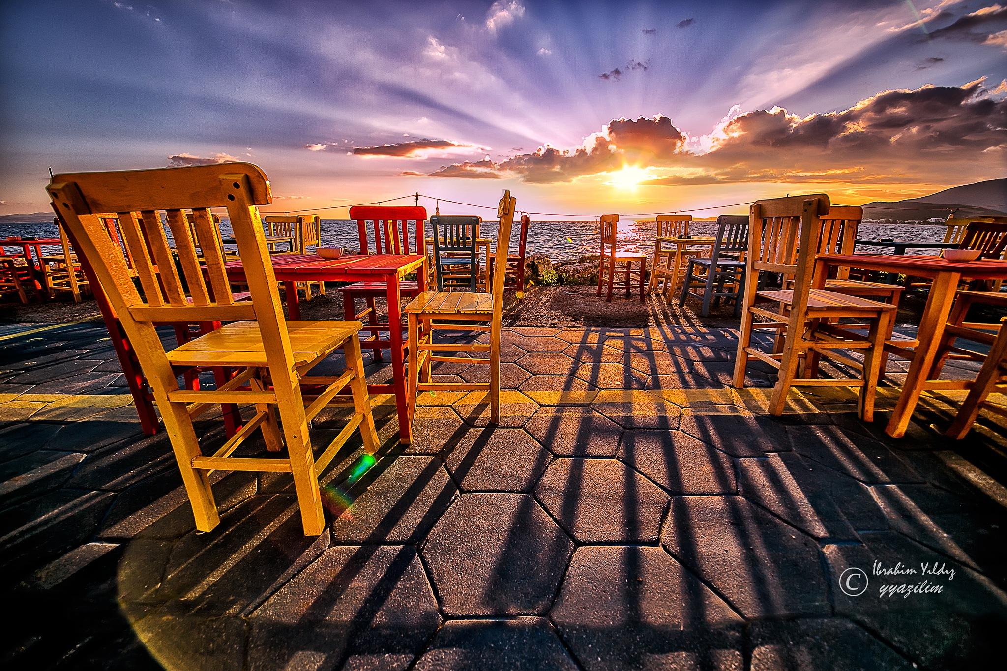 Yaz akşamı by İbrahim YILDIZ