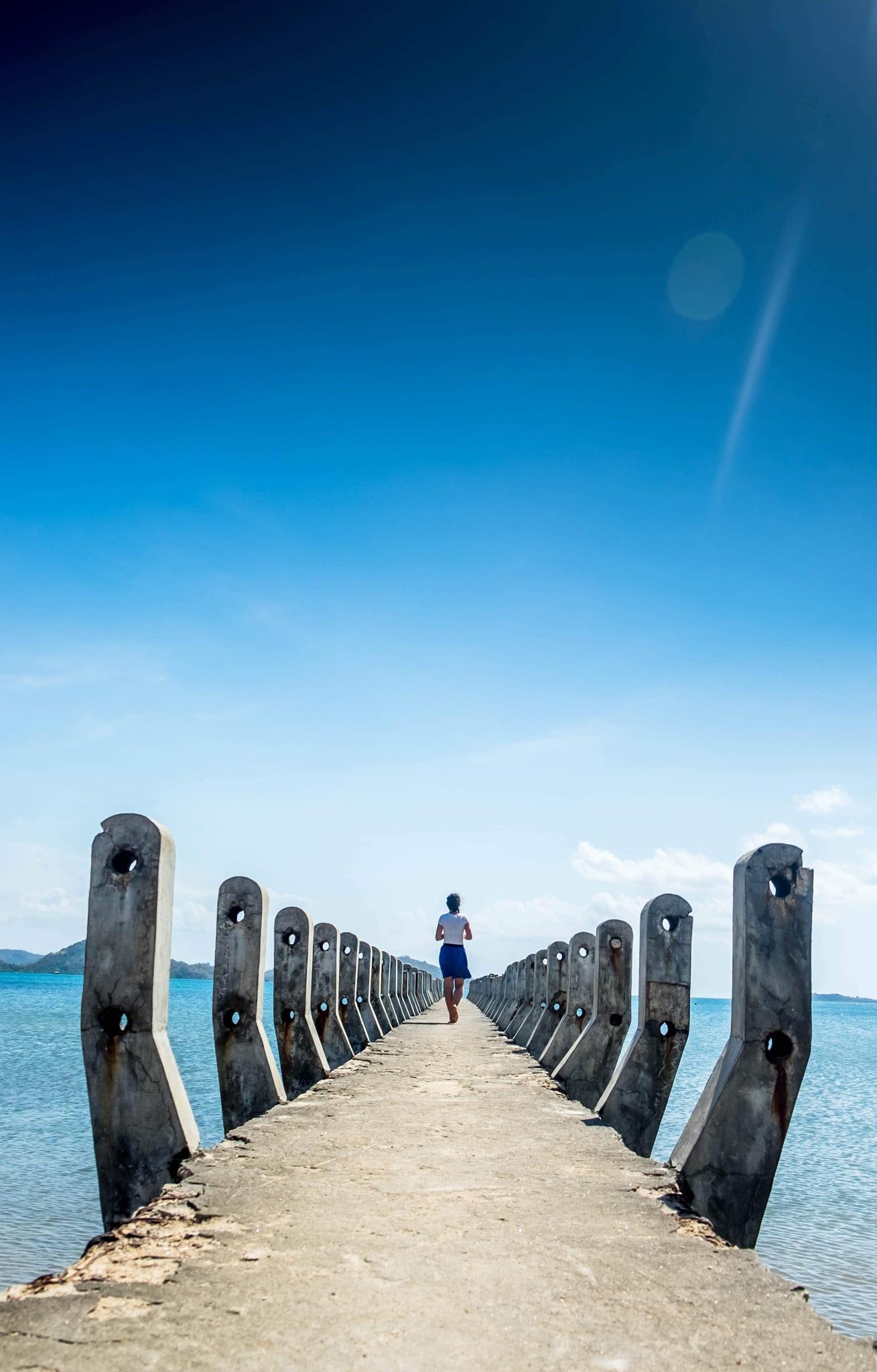 Lombok Pier by Sergei Smirnov