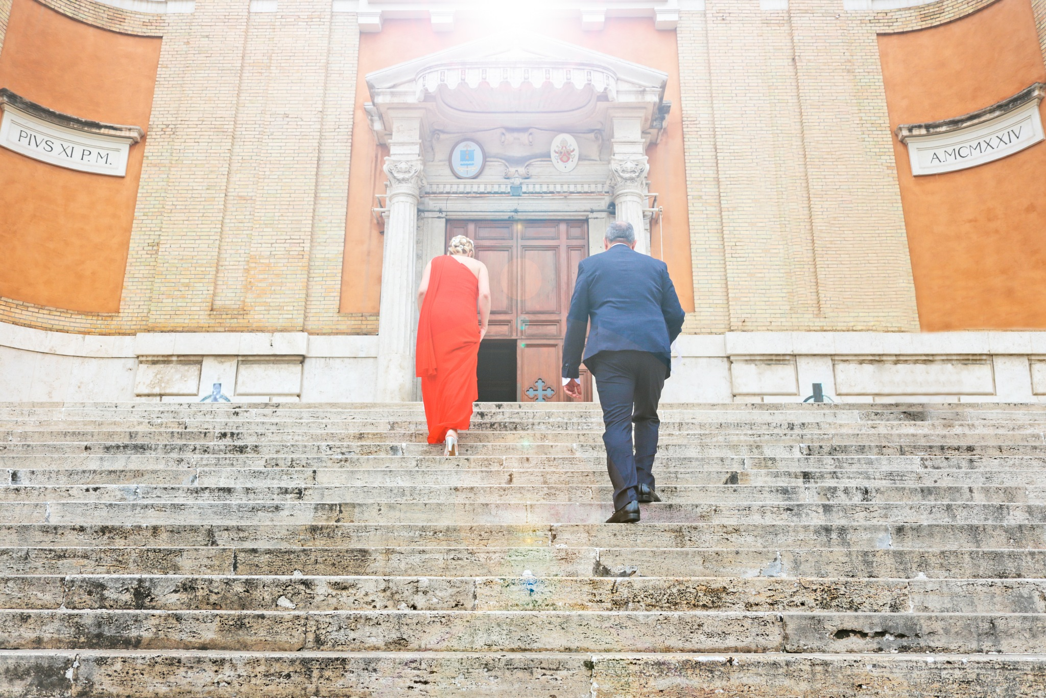 A Wedding in Rome by Filippo Caprioli