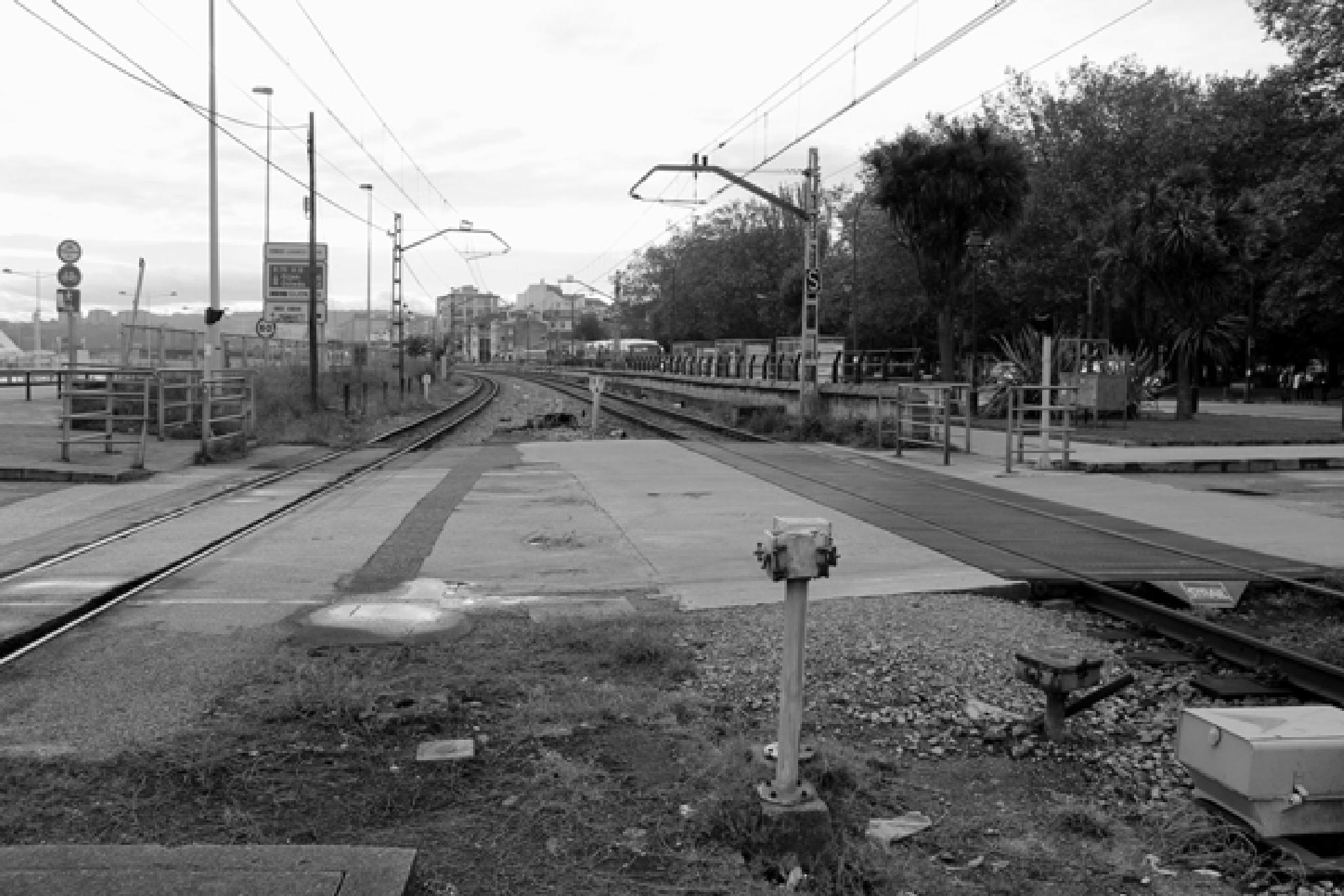 """""""Viajar en tren 1631"""" / Bernardo Guerra by bernardoguerra"""
