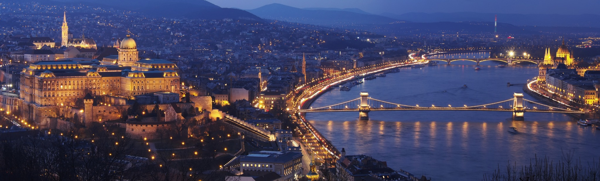 Budapest Blue Hour by Marcell Paál Hesperus