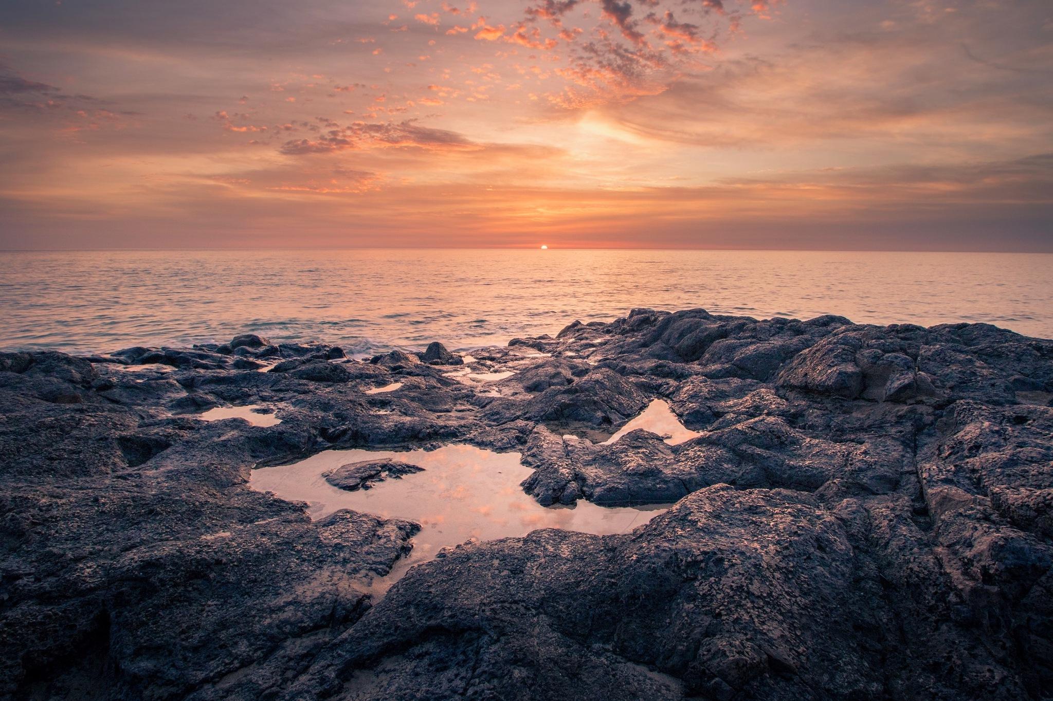 Sunrise on Fuerteventura by Jens Eldøy