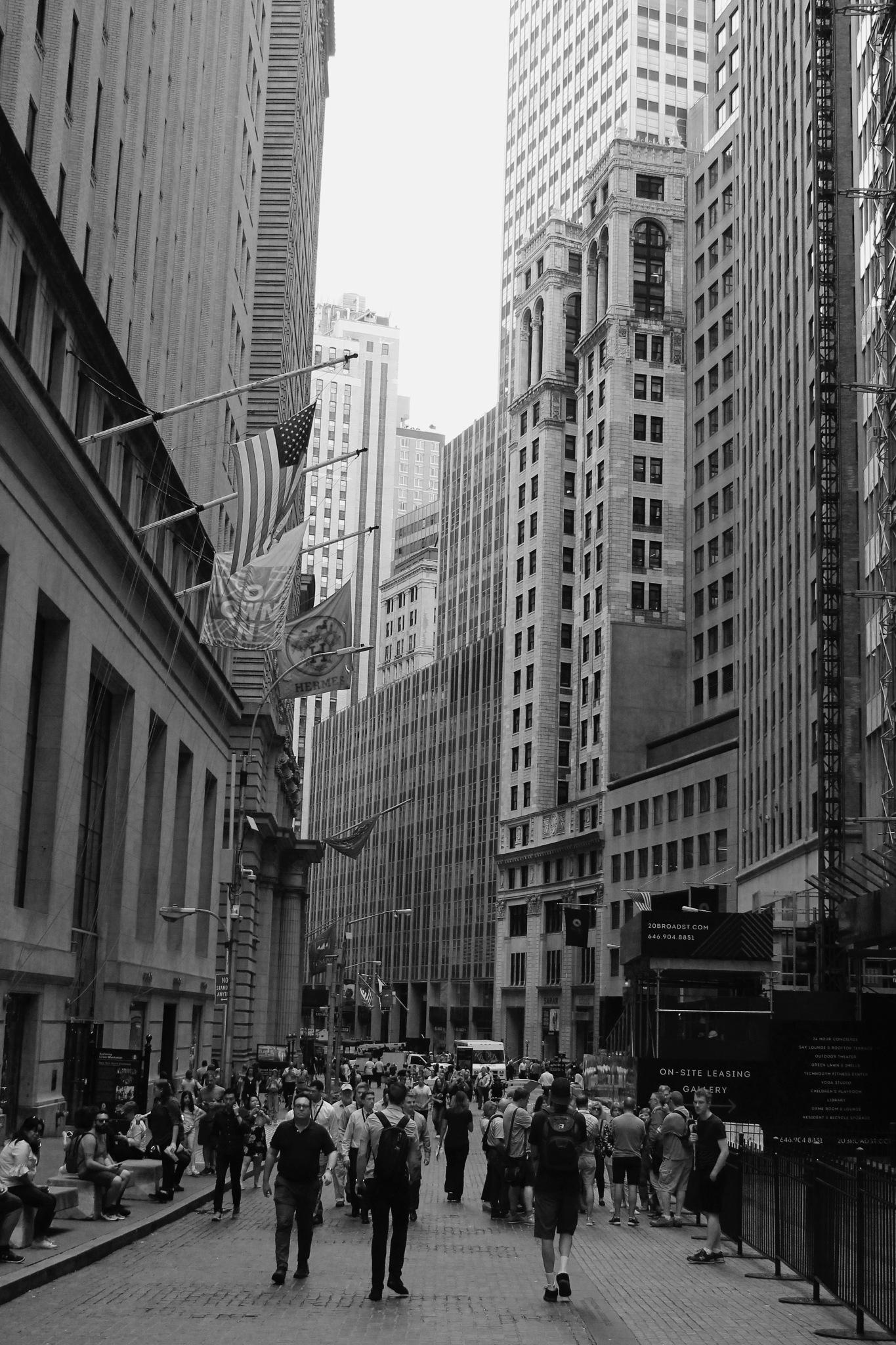 New Yorkers by Iain Adrejilo