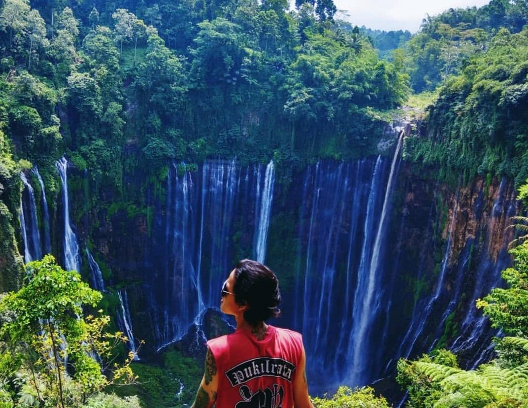 tumpak sewu waterfall by digo.lho