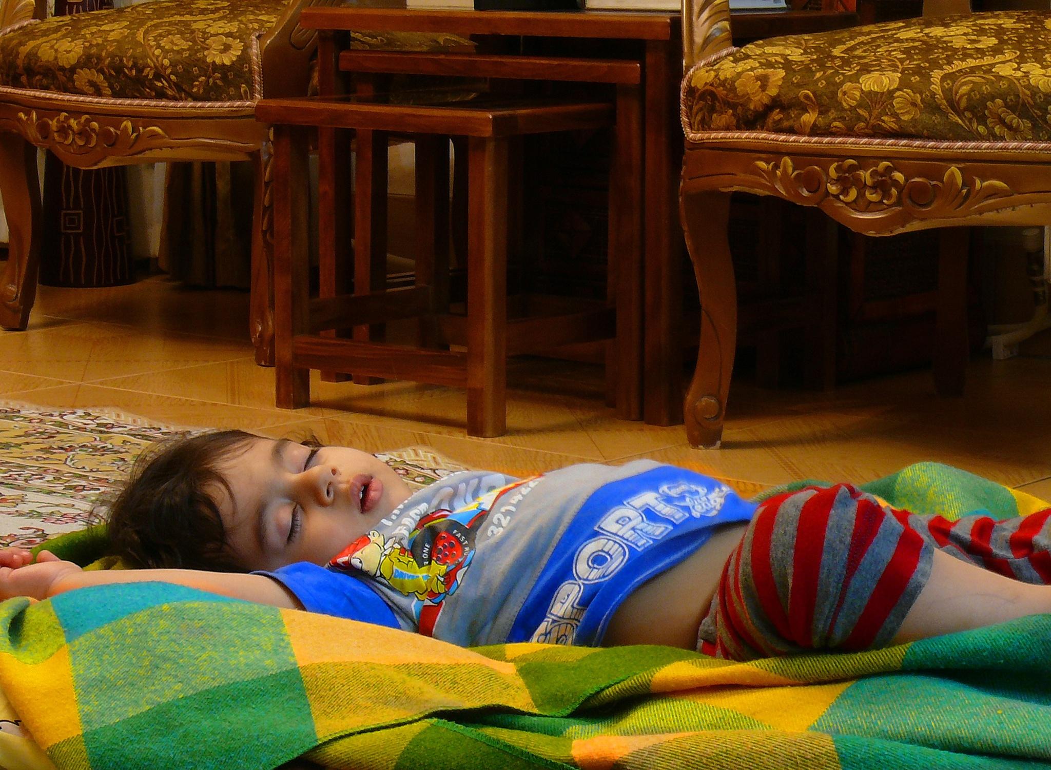 Comfortable sleep by Aahmad Hezavei