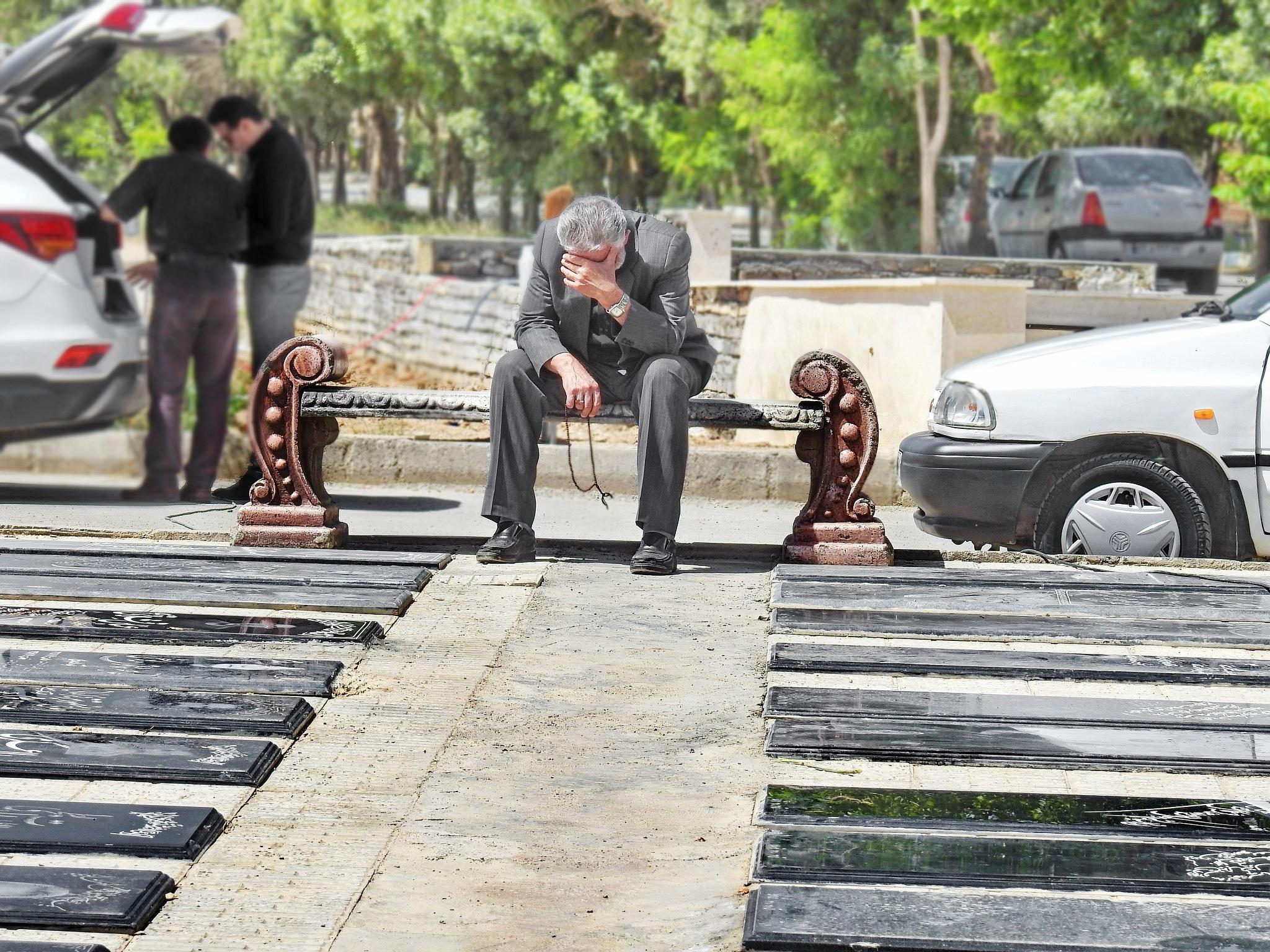 Graveyard by Ahmad Hezavei