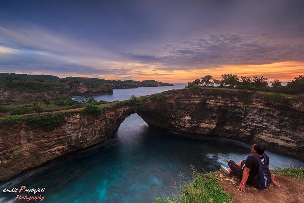 Enjoy My Sunset Trip by Dondit Poerbojati Photography