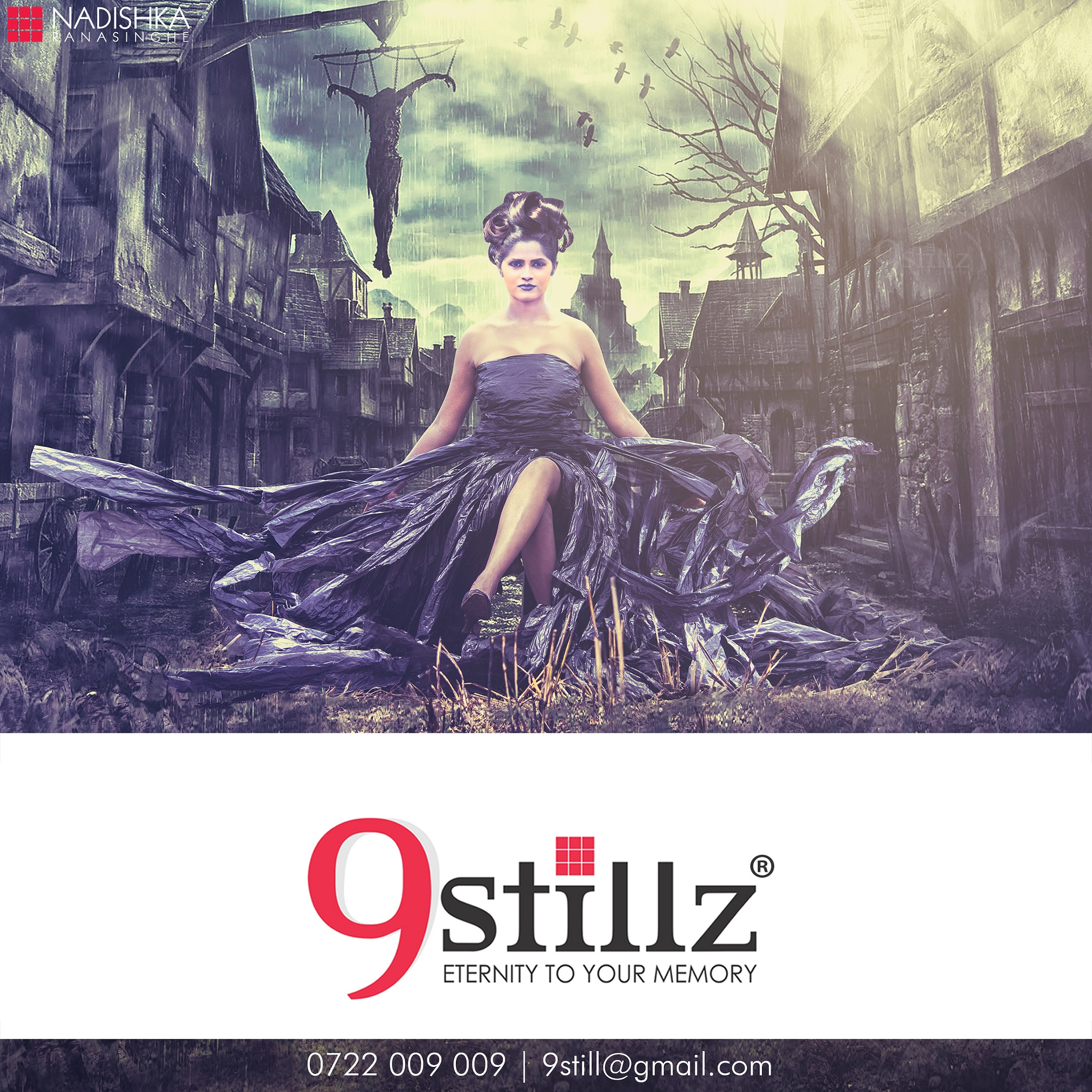 Dark Beauty, Brings Death at Nightfall by 9Stillz