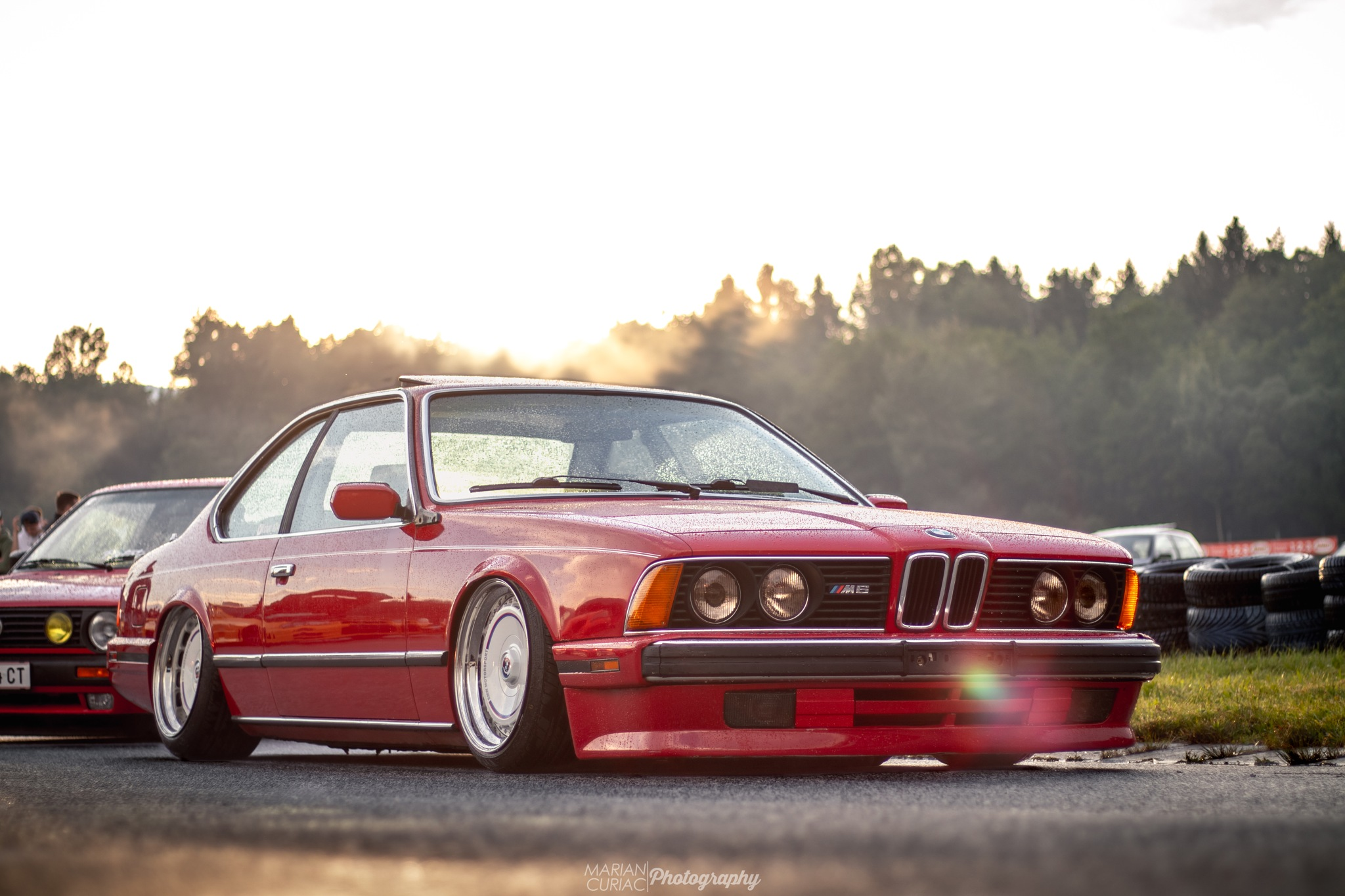 Photo in Vehicle #bmw #cars #low #sunny #meeting #tuning #e24 #modified #shooting #racetrack