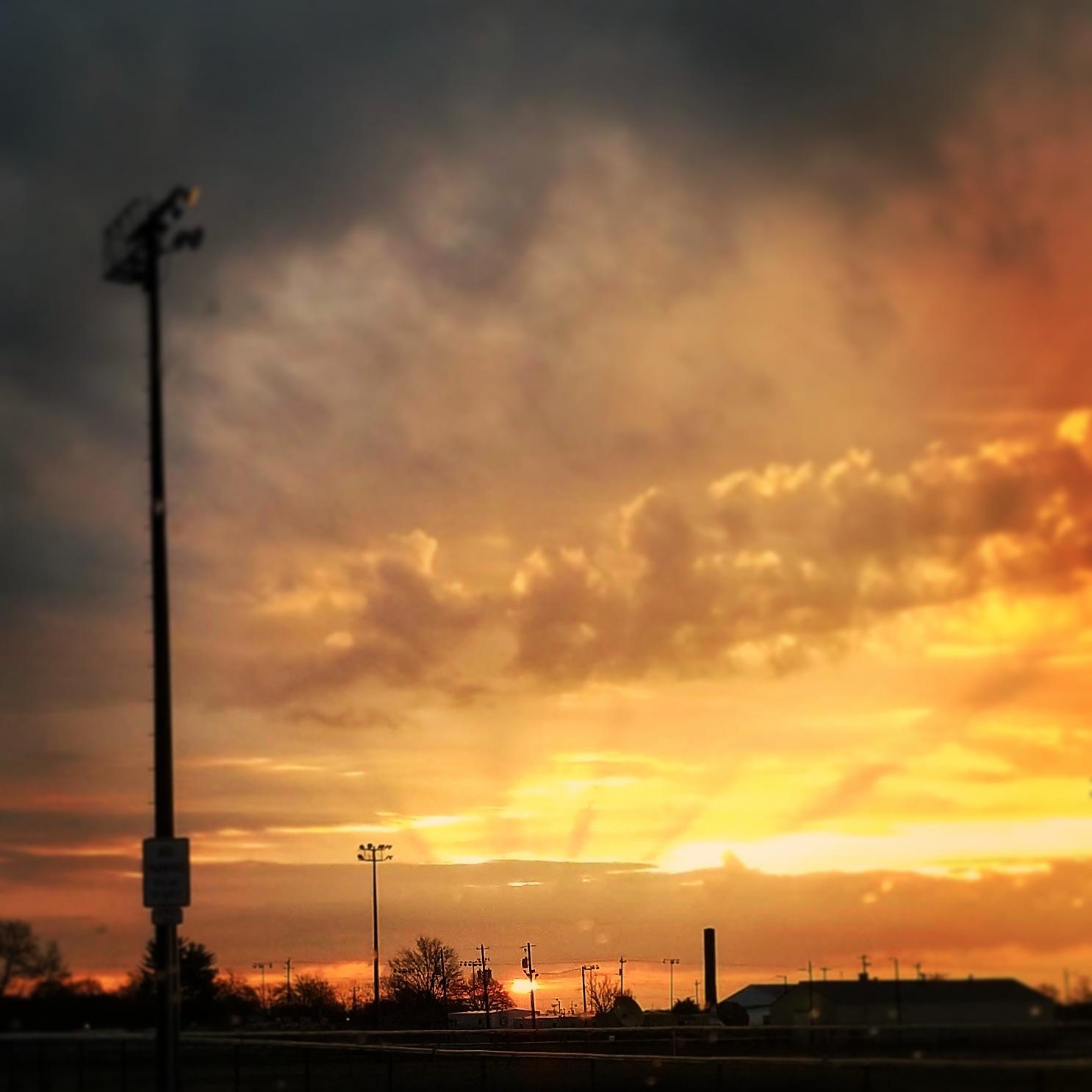 sunrise by David Lincoln