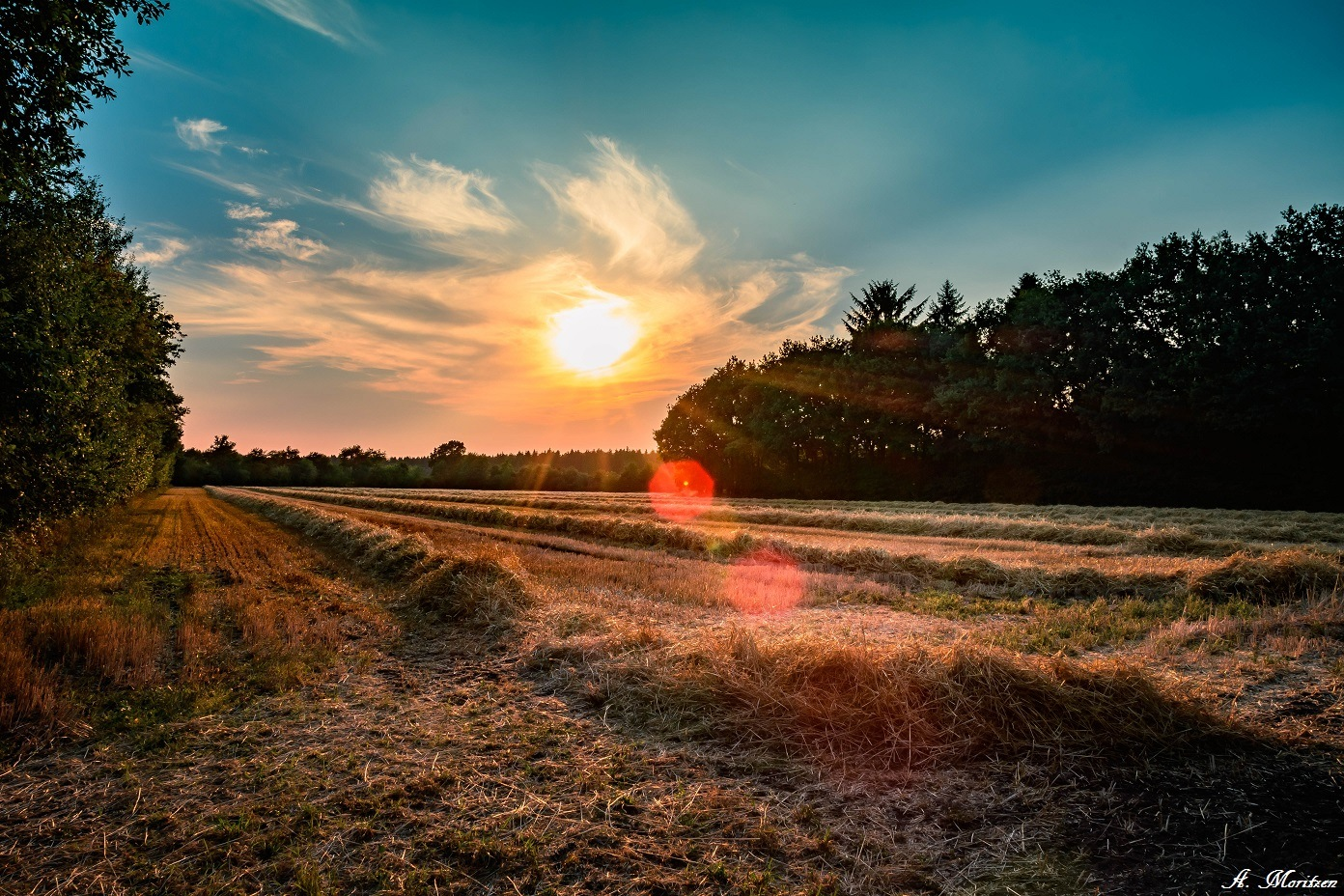 Wonderful sunset  by A. Mor. Reflections (Antje Moritzen)