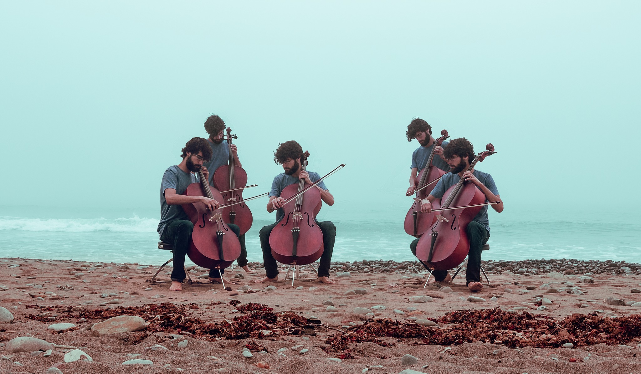 Ensemble on the Beach by Sean LeBlanc