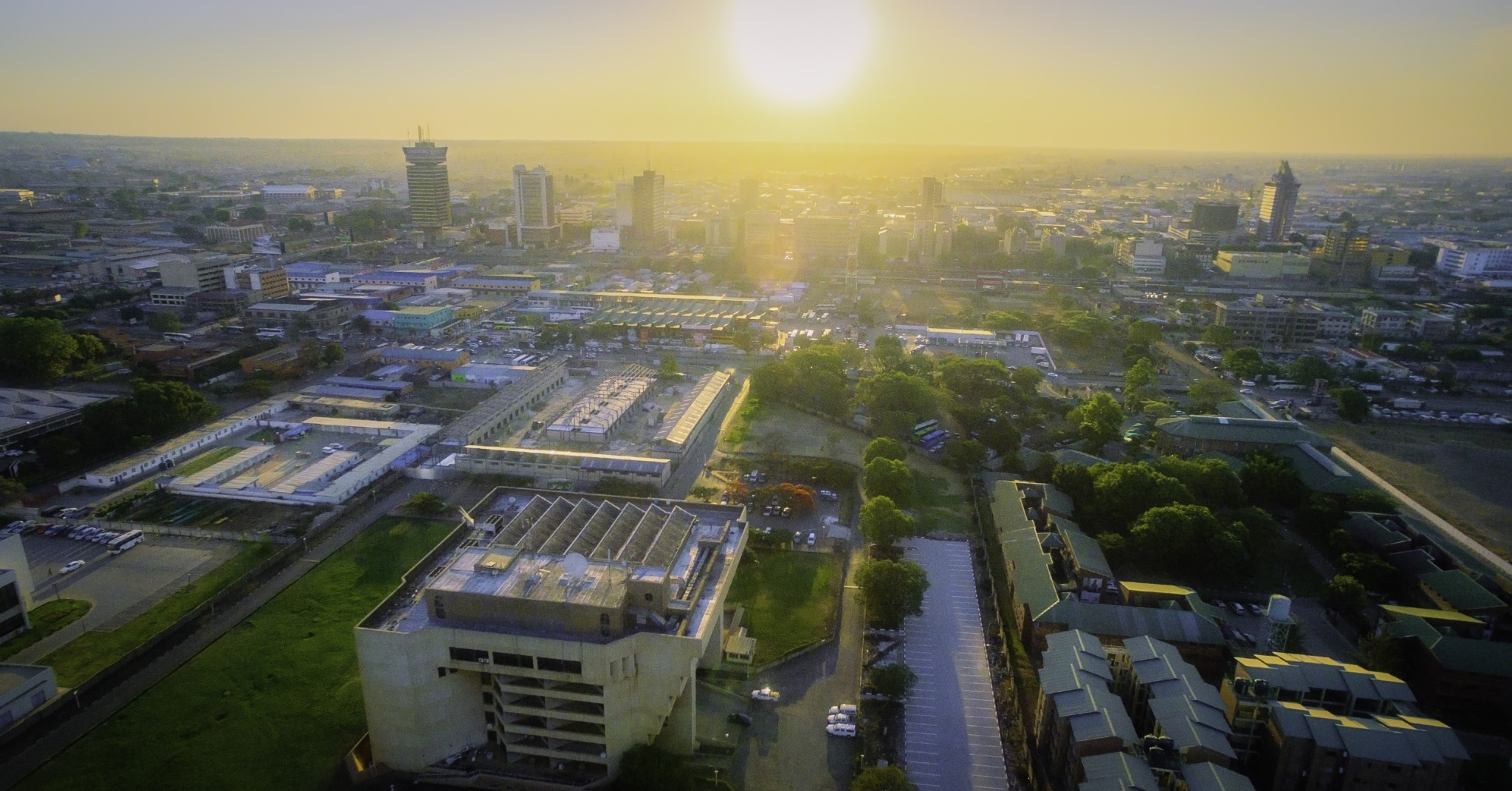 Sun Over Lusaka by Matthews Nshindano