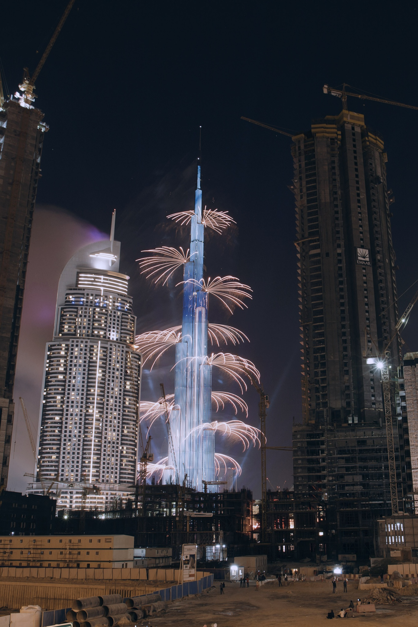 Fireworks 2016 New year by kingsly