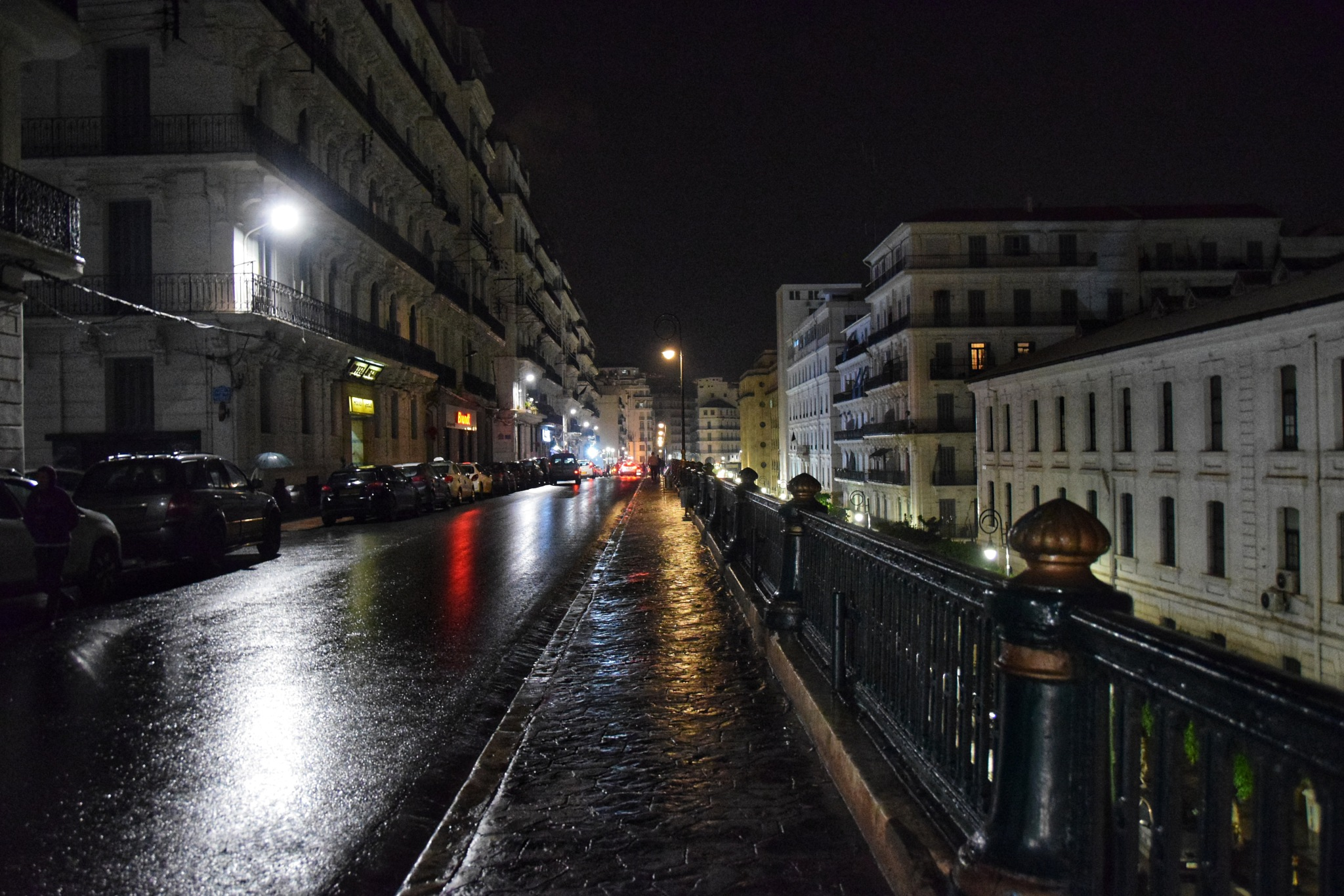algiers by night by Ghanou Dah