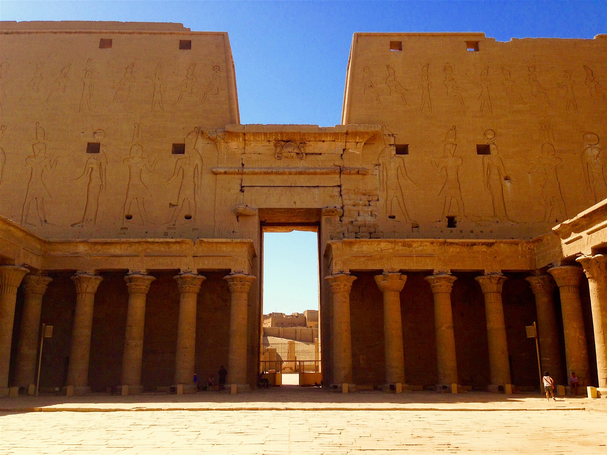 The Temple of Horus by bayufirmansyah
