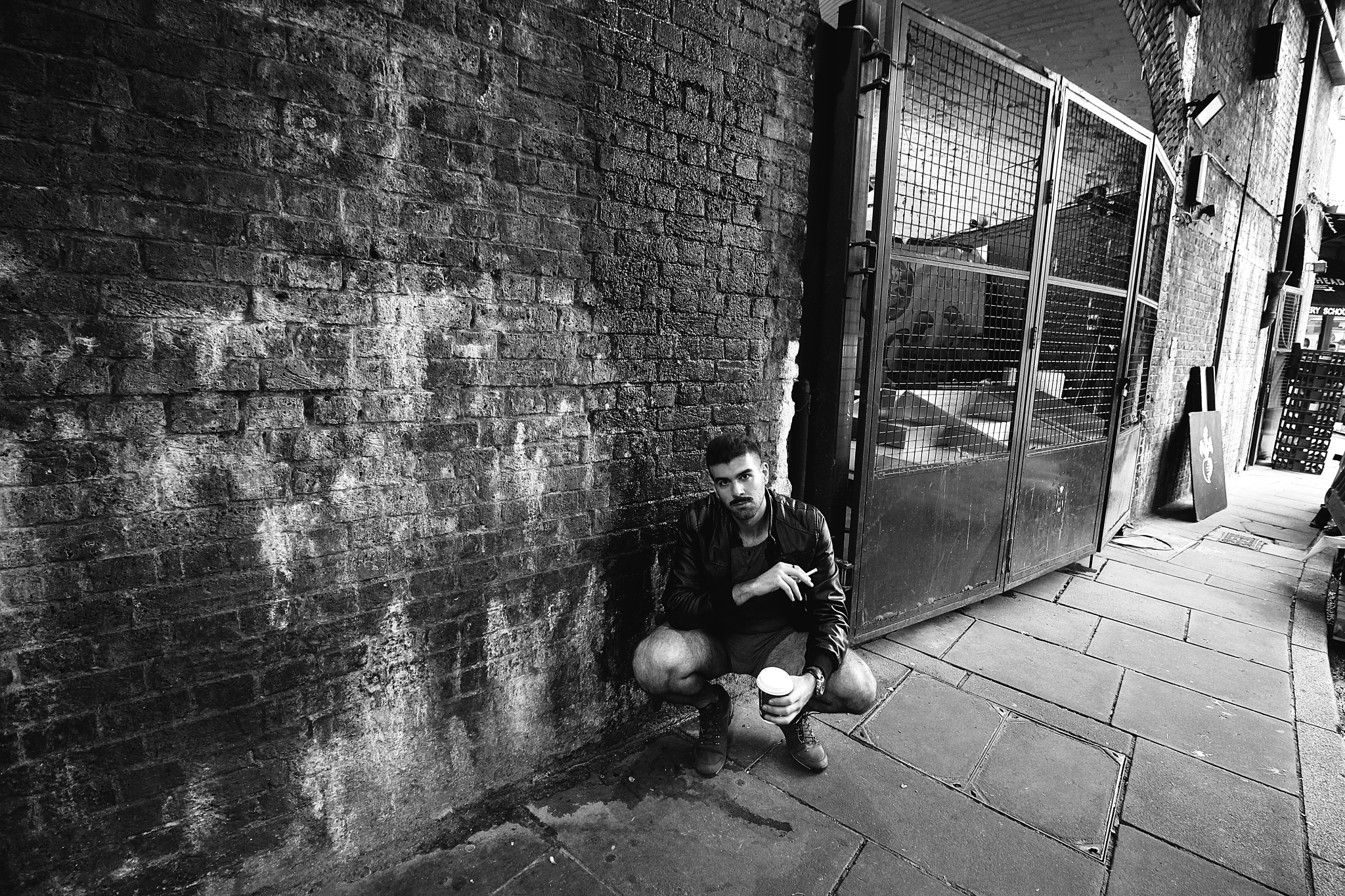 Random Man Street Shot by Adrian Perez