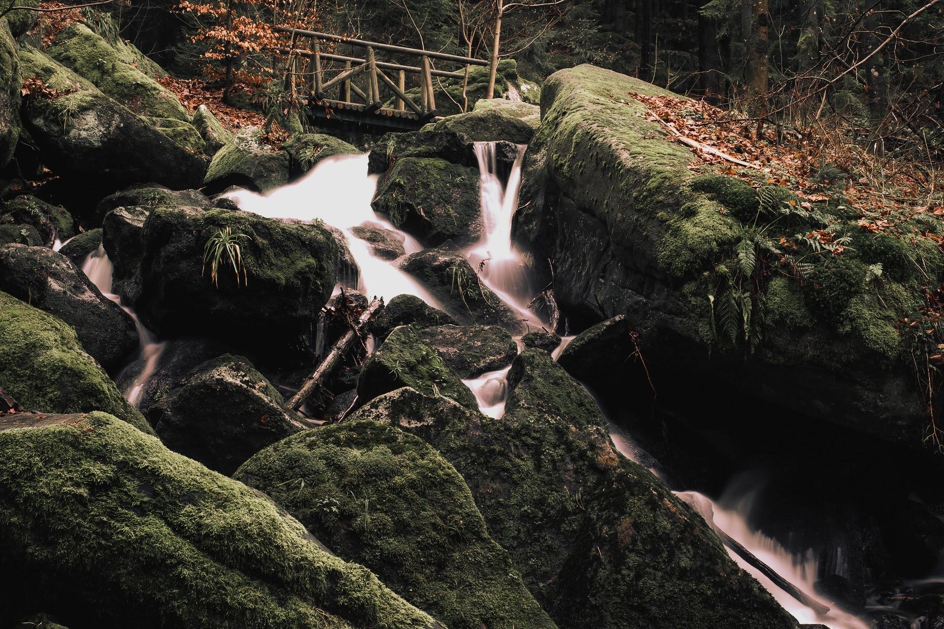 Black Forest Waterfall by Stefan Köhler