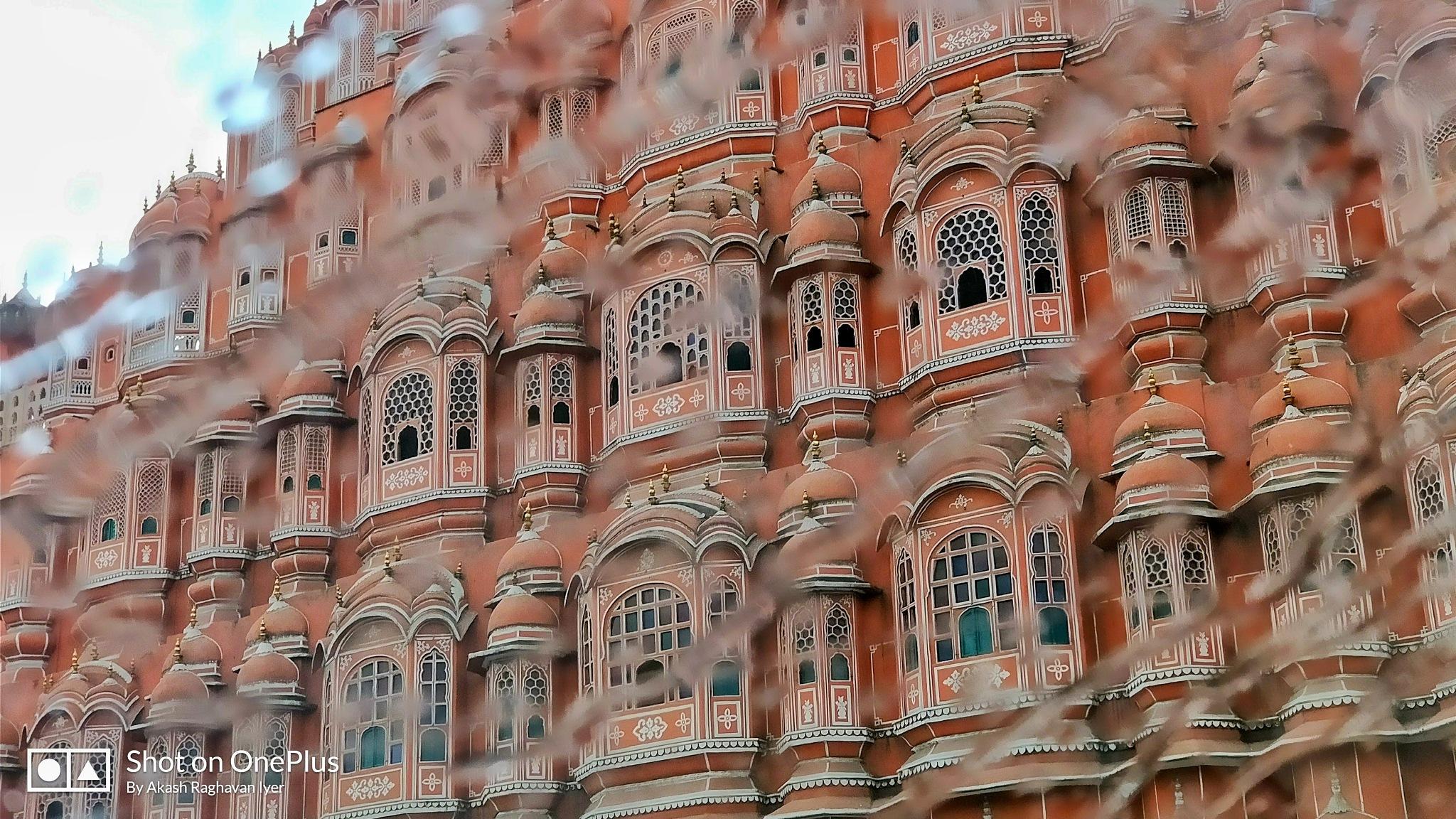 Hawa Mahal by akashrr