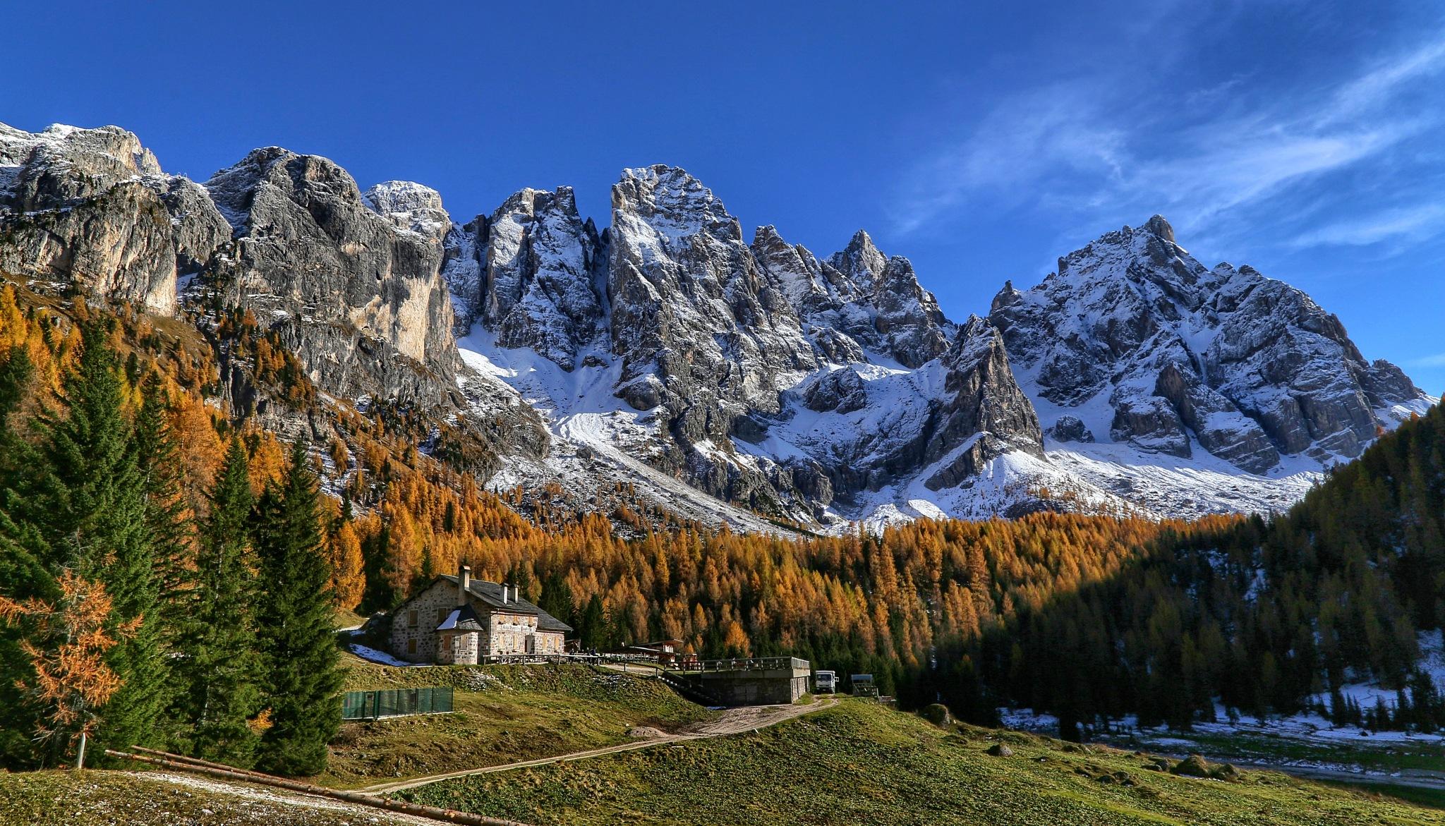 Venegia Valley Dolomites TrentinoAltoadige Italy by Cristian Stablum