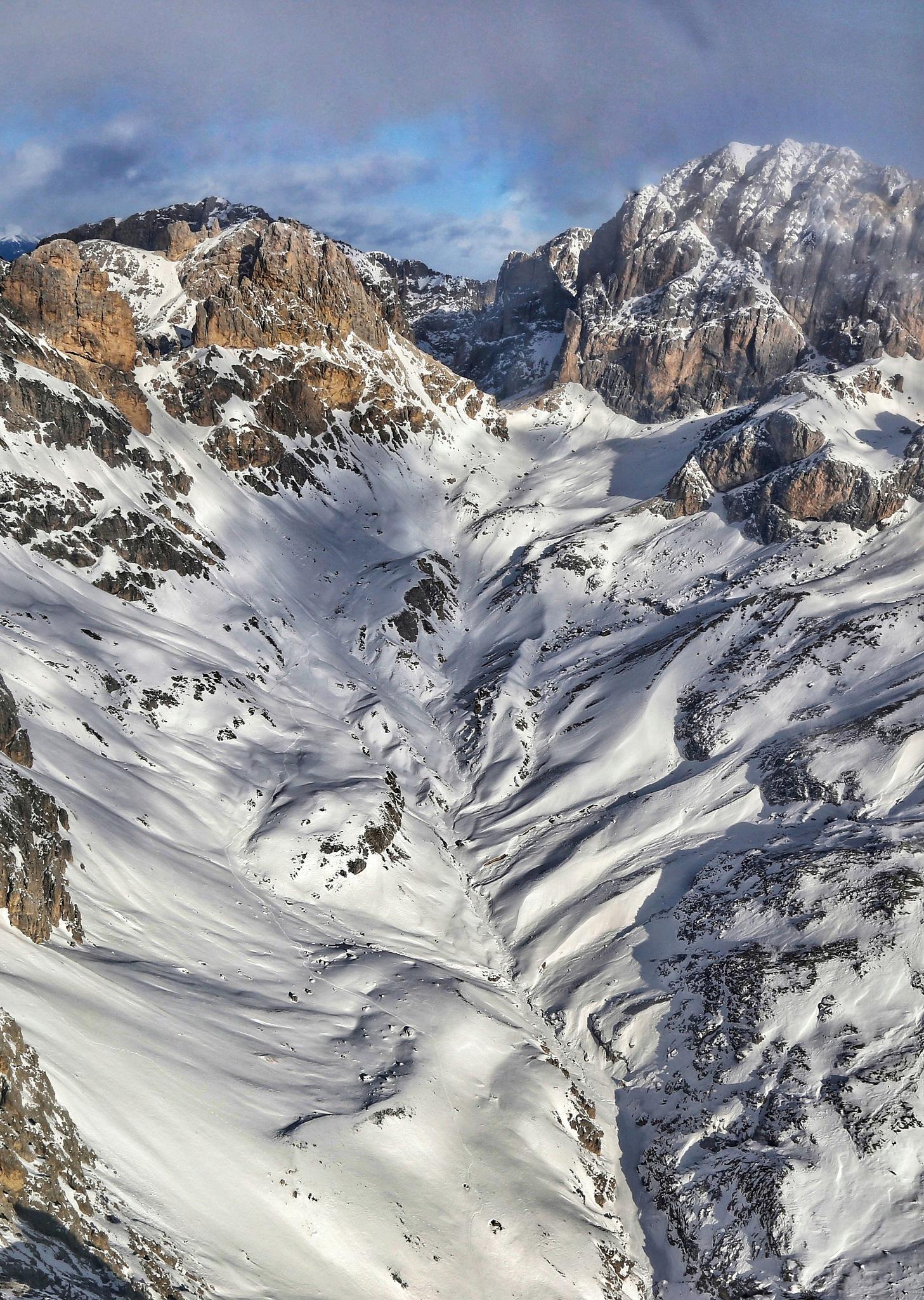 Rosengarten group Dolomites Italy by Cristian Stablum