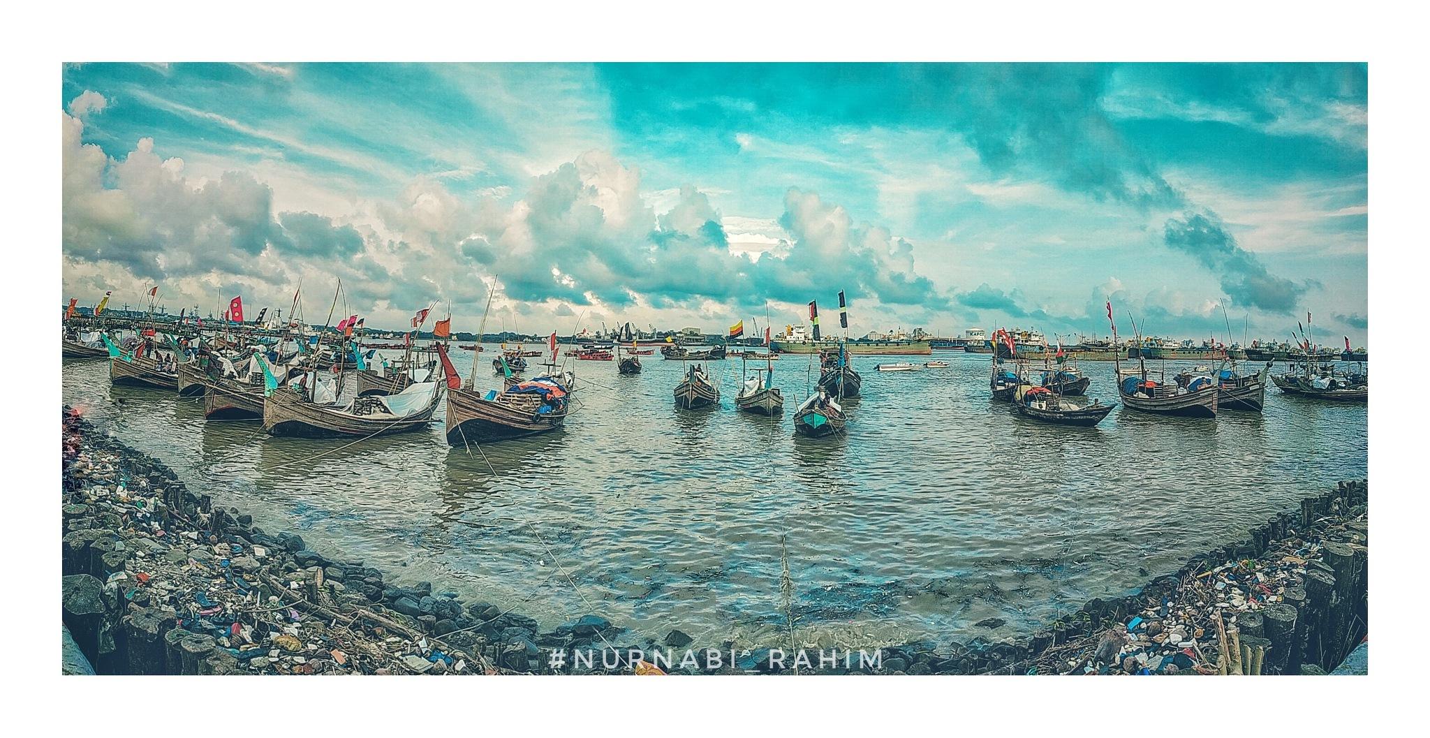 the home of the boat.. by NurNabi Rahim Chowdhury