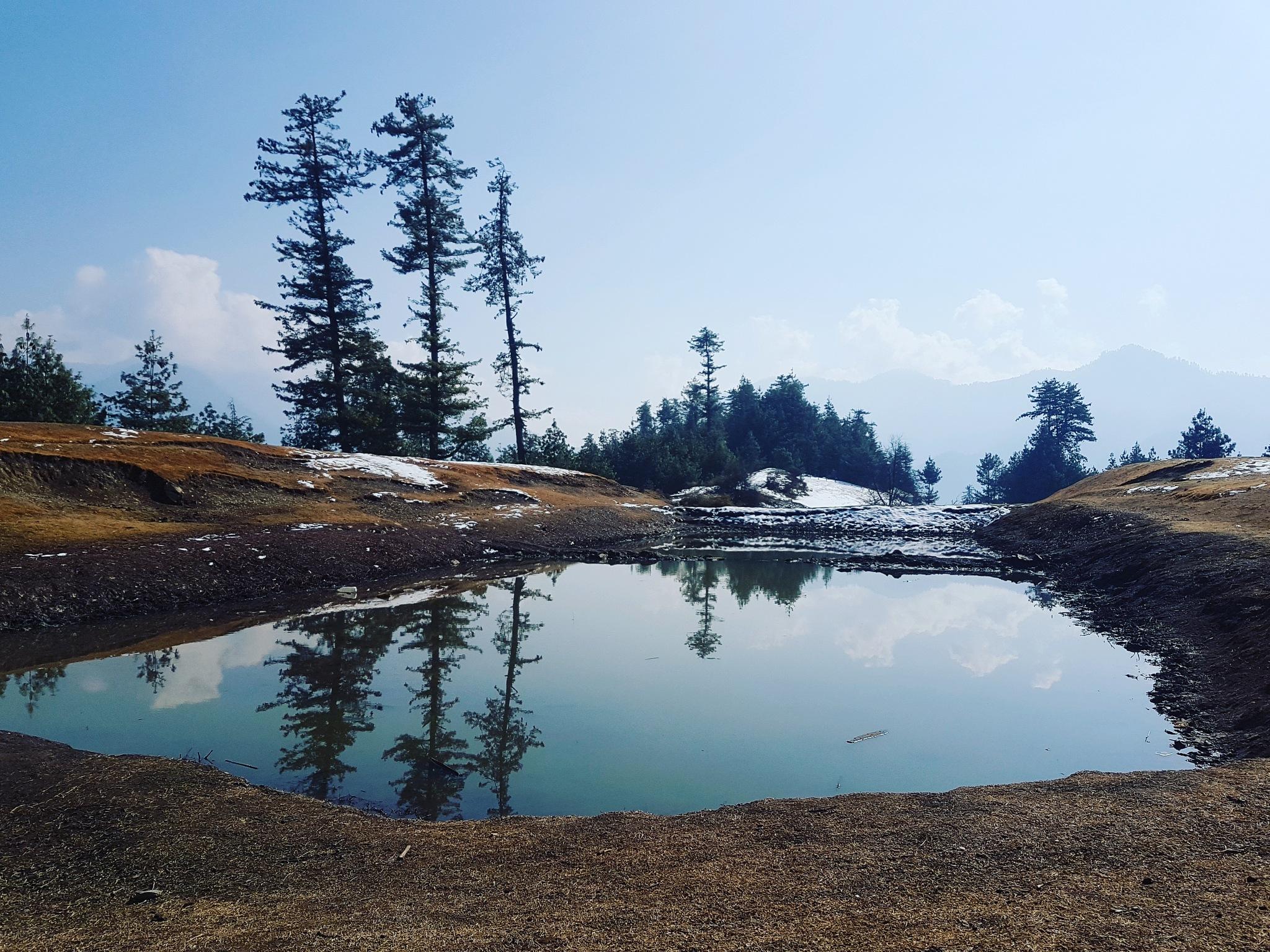 HillTop Lake by Sheetal Kumar Kaundal
