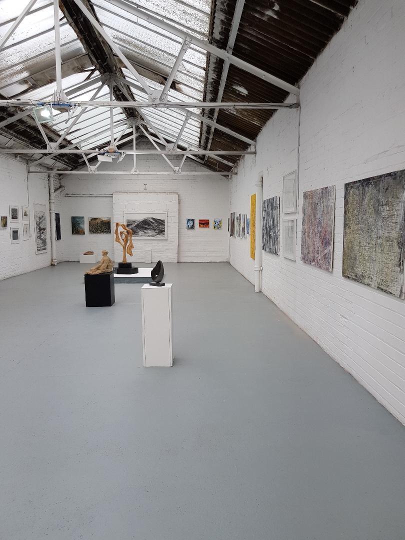 Gallery in the Roof by Zoe Davis