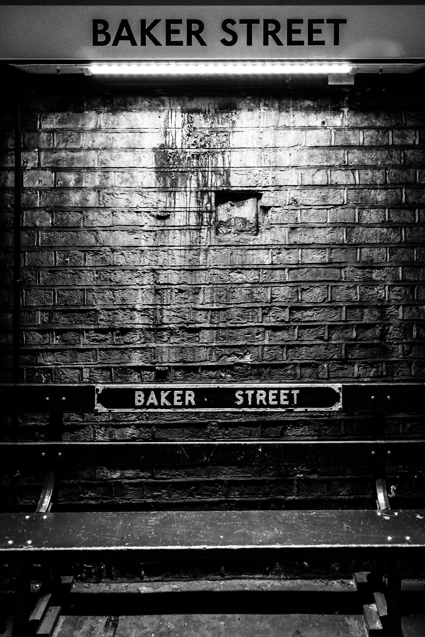 Baker Street Underground Station by Michael Schröder