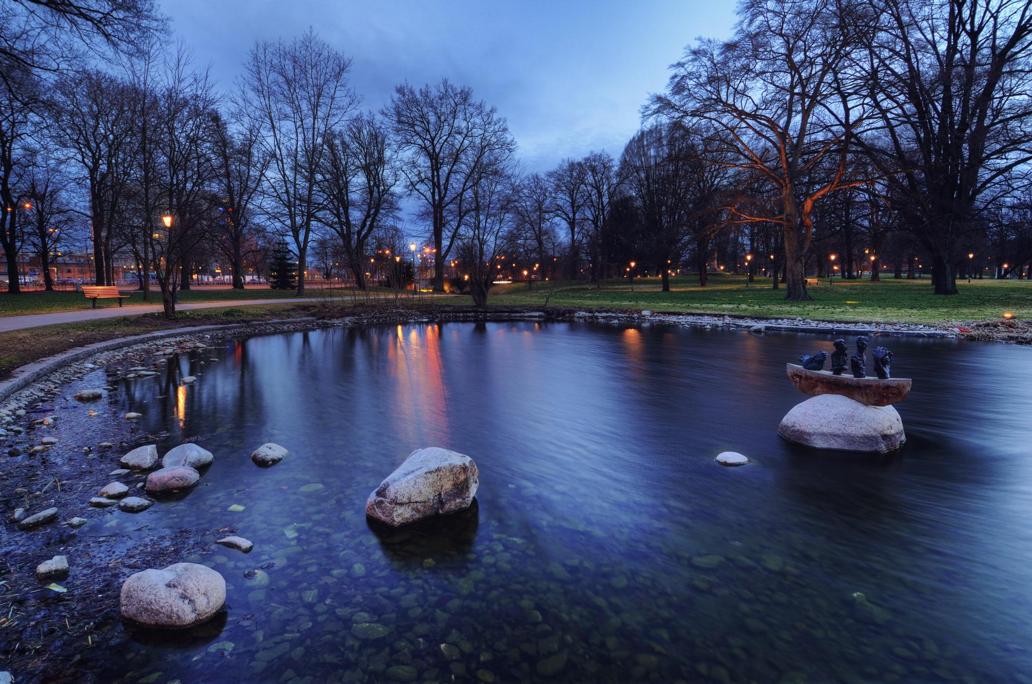 The Vasa Pond by Henrik Sundholm