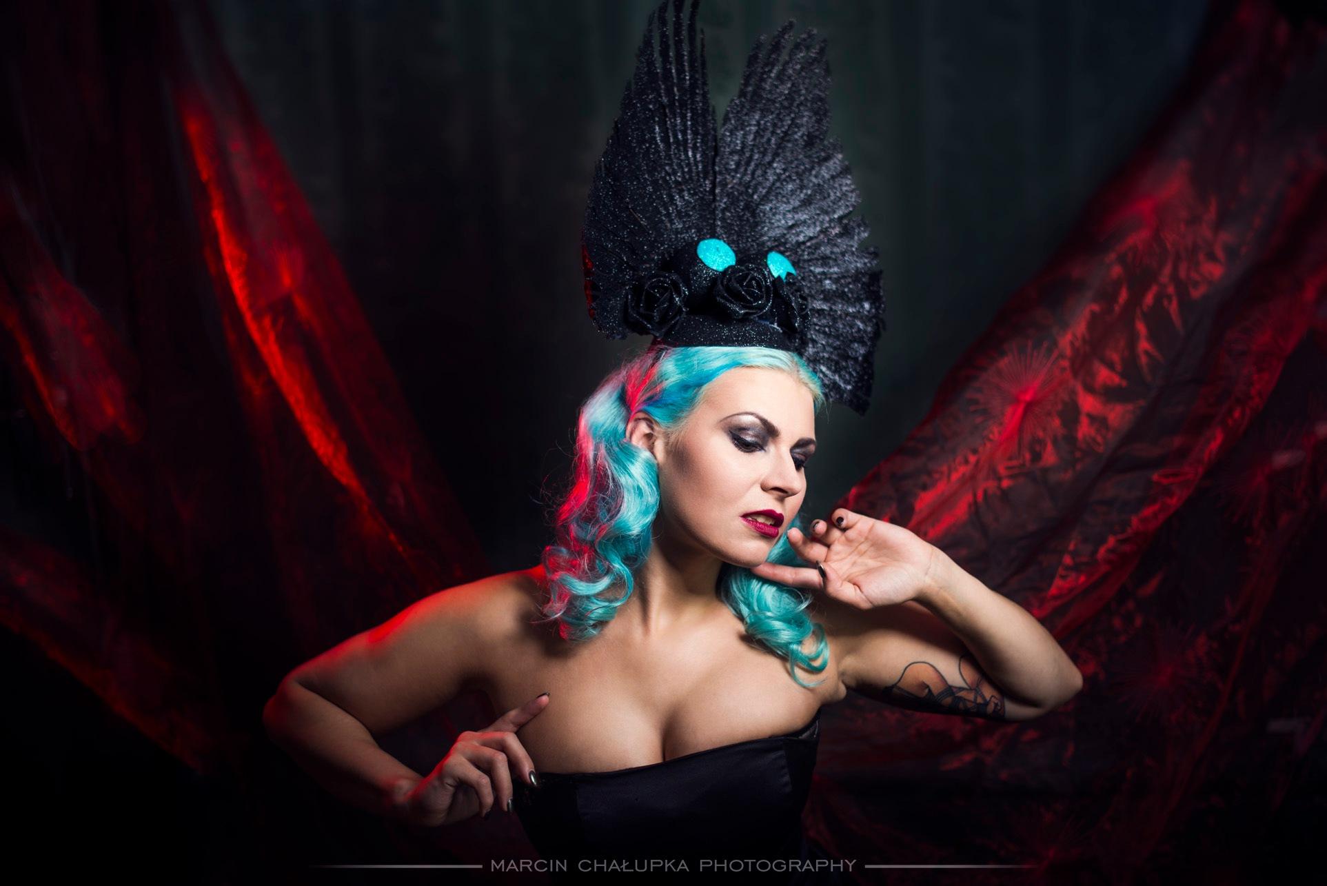 LAdy Blue by MarcinChalupkaPhotography