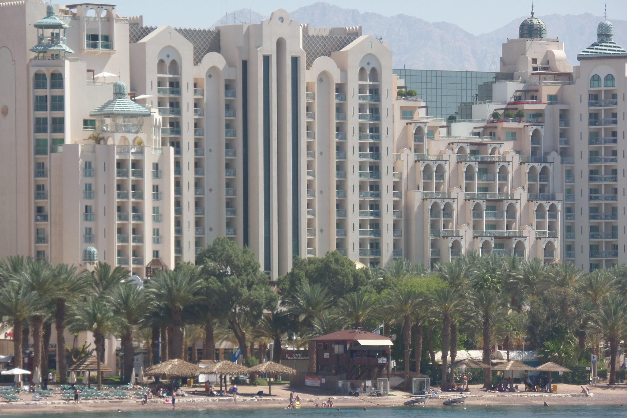 One of the luxury hotels in Eilat by Francine Waterman