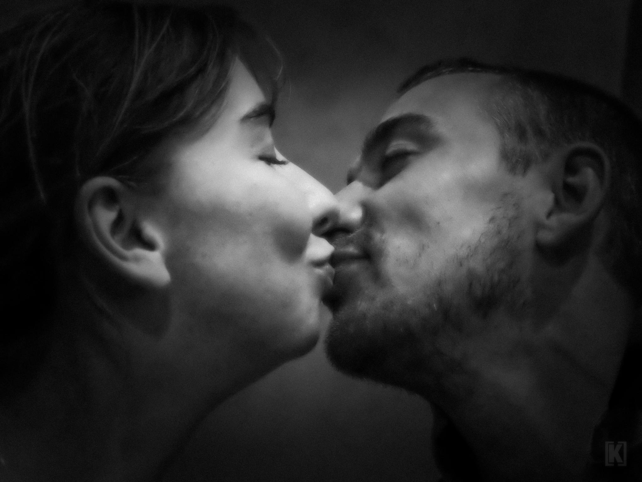 Le  baiser....... by kriska62 photographe
