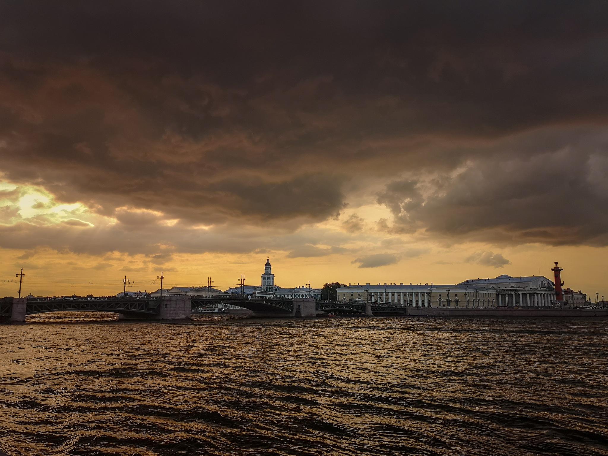 Photo in Travel #russia #travel #city #steel #sea #dusk