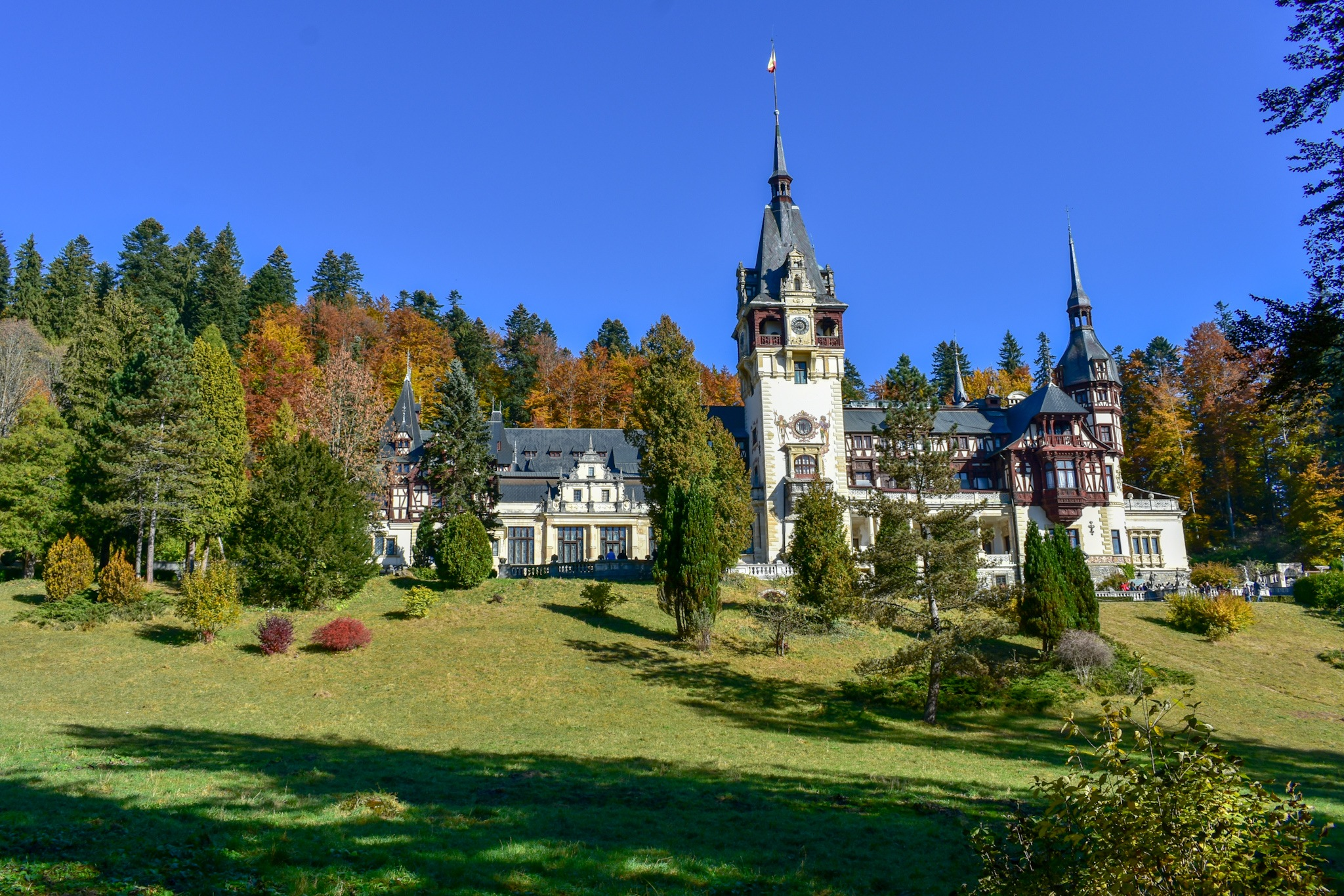 Castle Peles -Sinaia Romania by Daniela Ionita